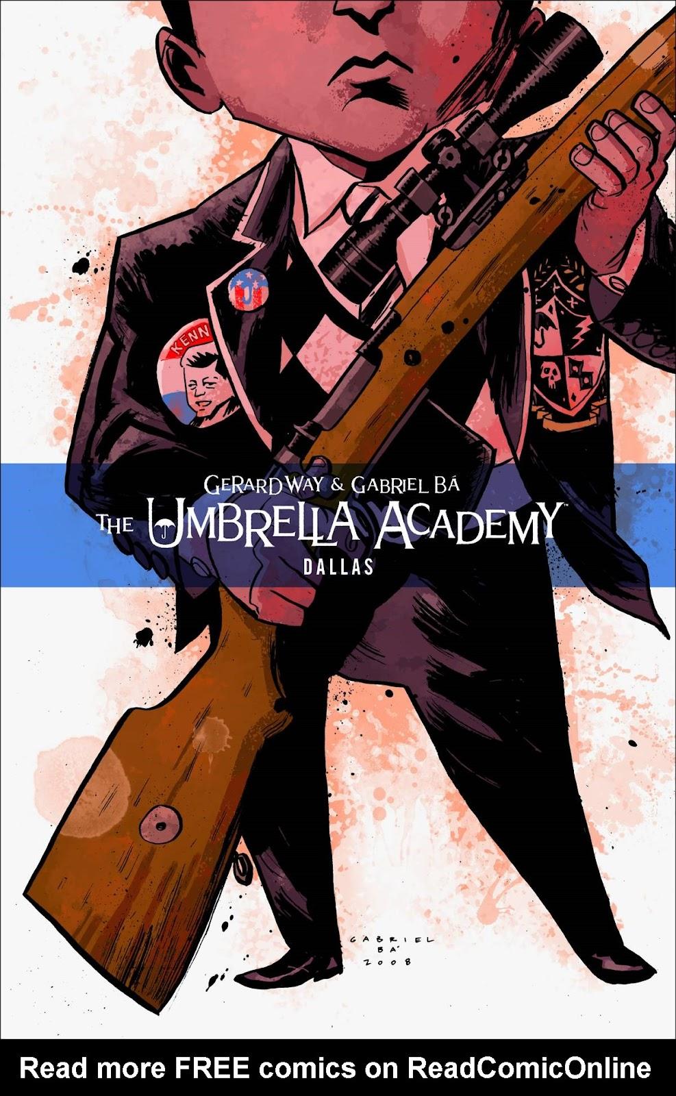 The Umbrella Academy: Dallas issue 1 - Page 1