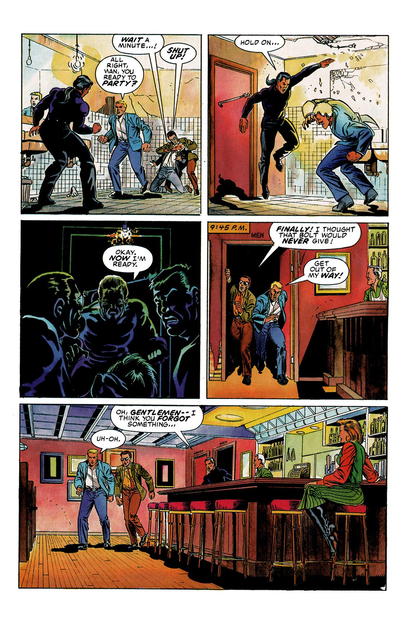 Read online Shadowman (1992) comic -  Issue #3 - 5
