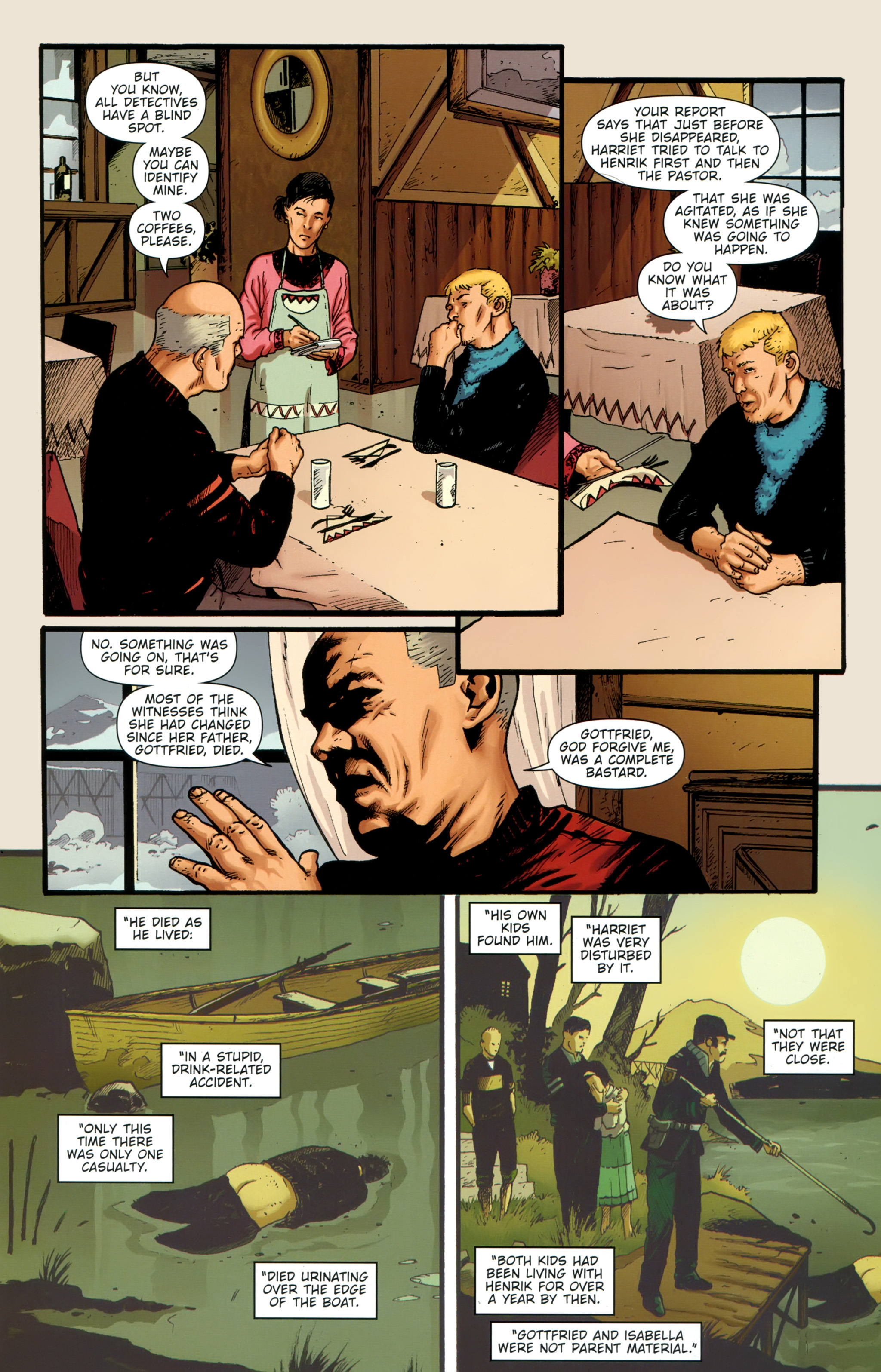 Read online The Girl With the Dragon Tattoo comic -  Issue # TPB 1 - 110