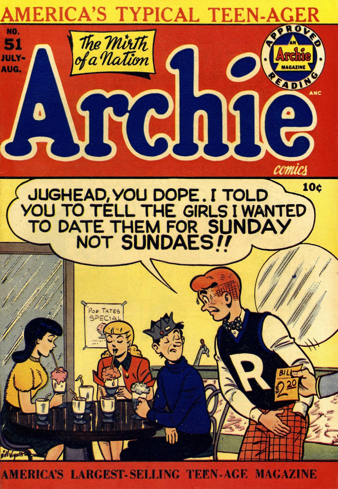 Archie Comics issue 051 - Page 1