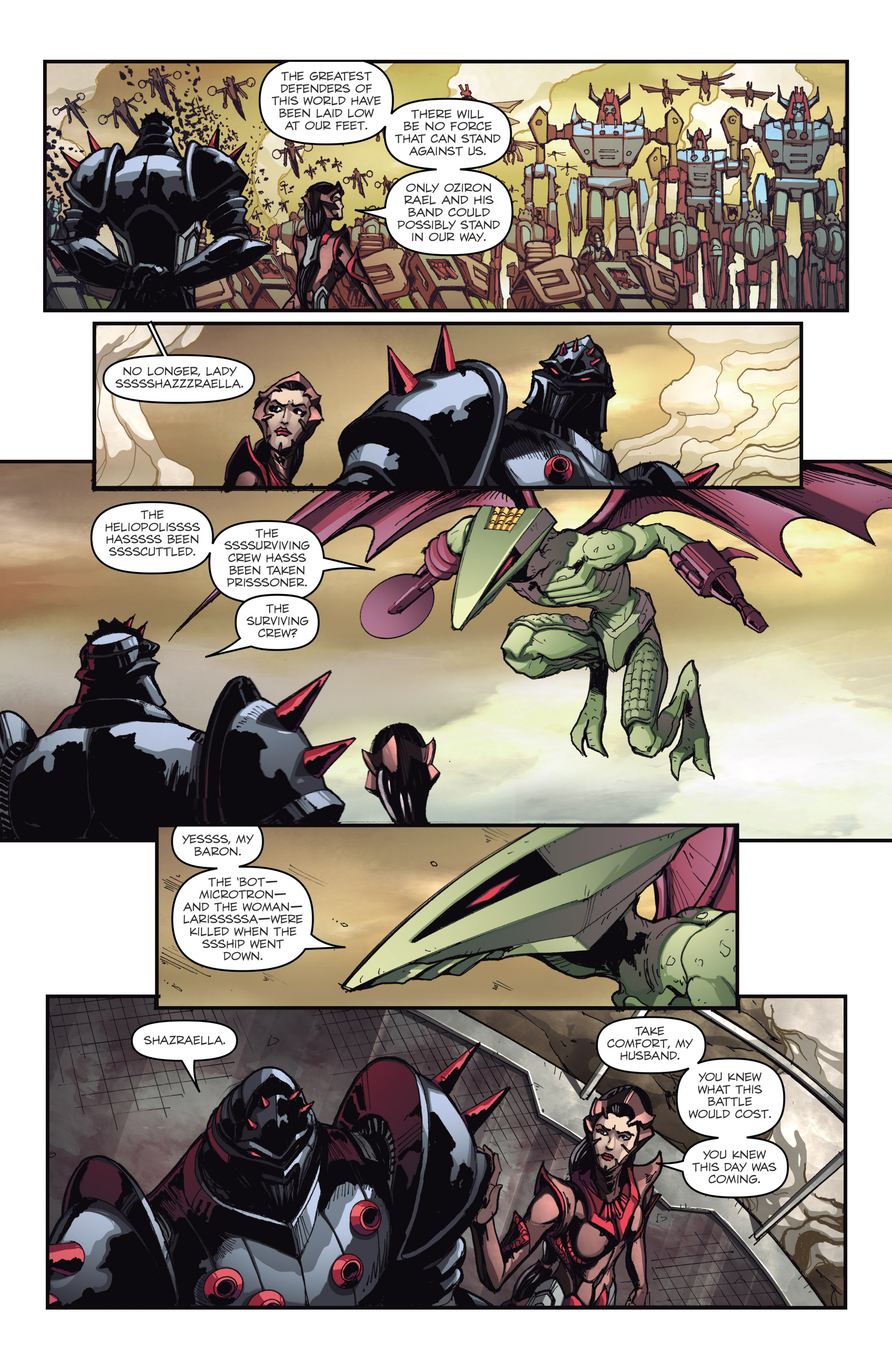 Read online Micronauts: Wrath of Karza comic -  Issue #2 - 16