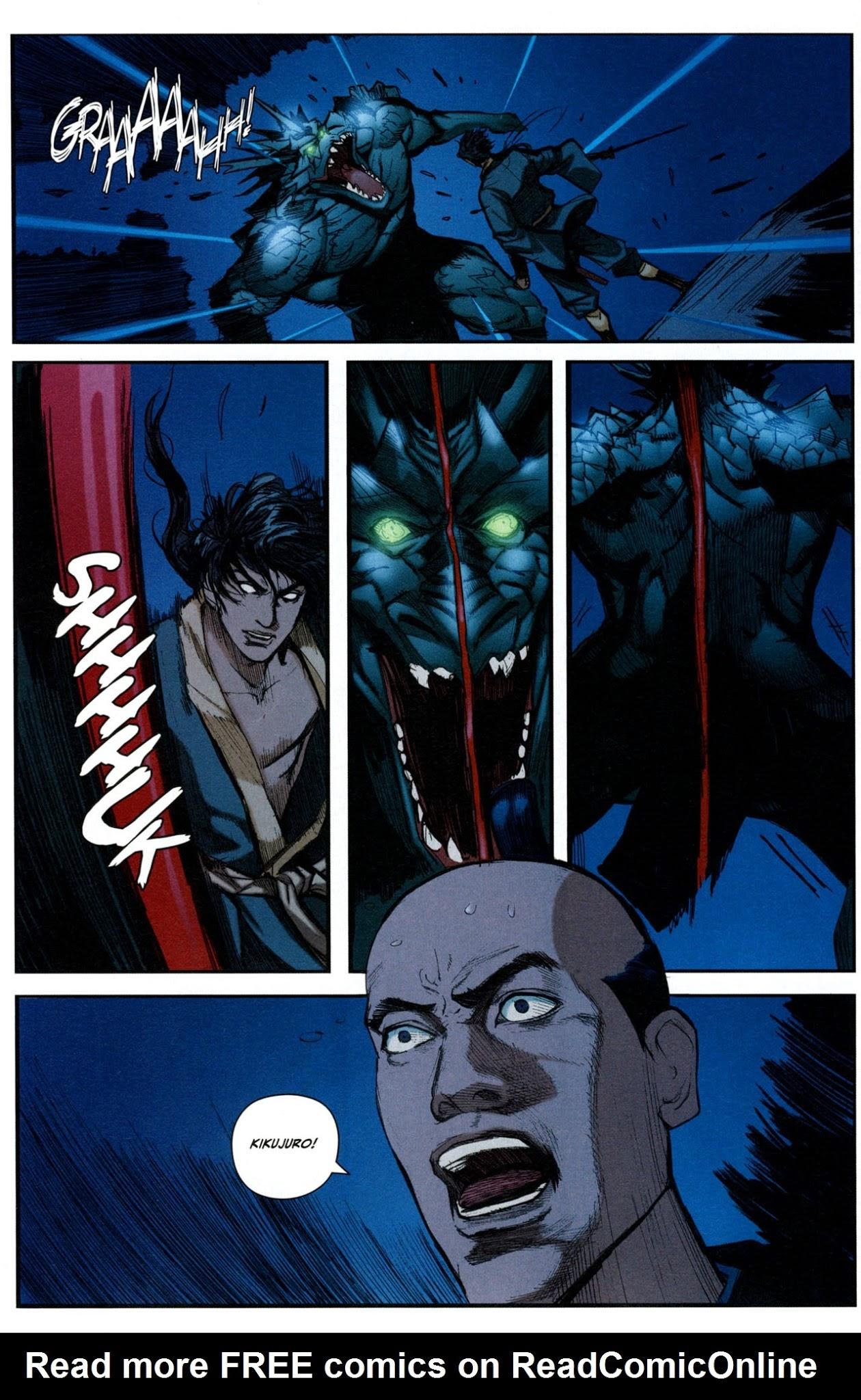 Ninja Scroll 6 Read Ninja Scroll Issue 6 Page 8