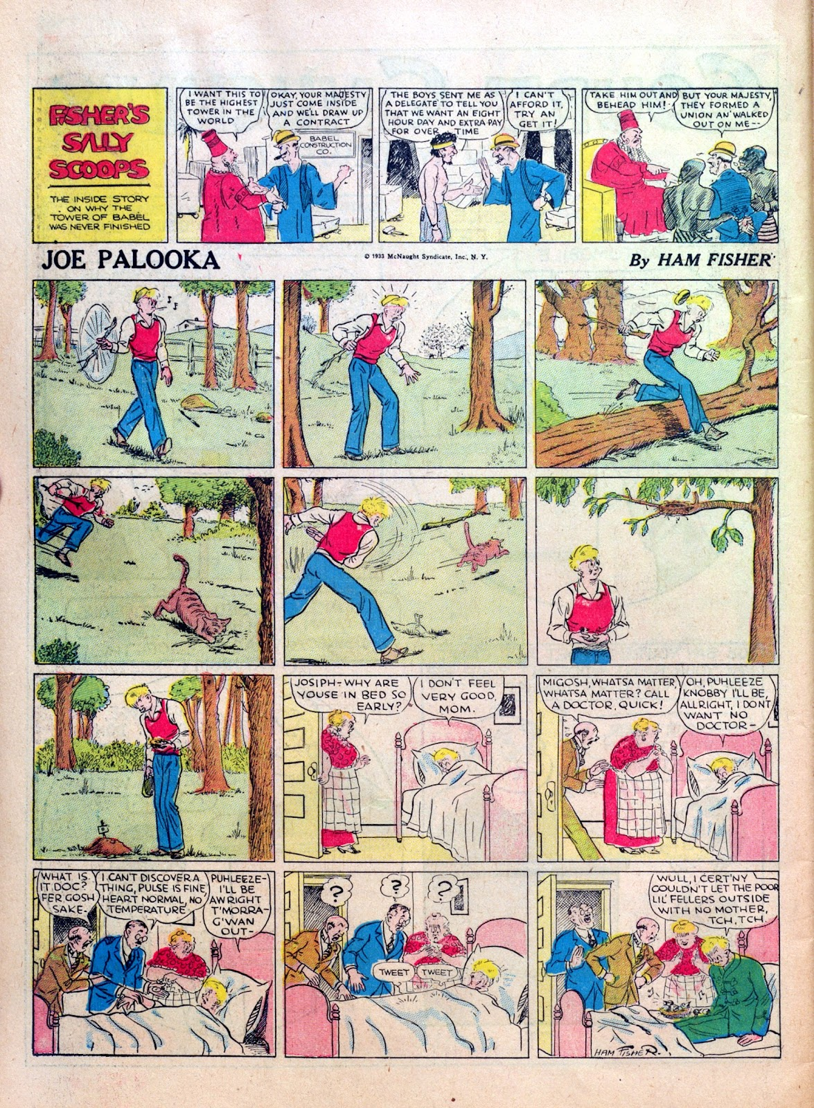 Read online Famous Funnies comic -  Issue #10 - 64