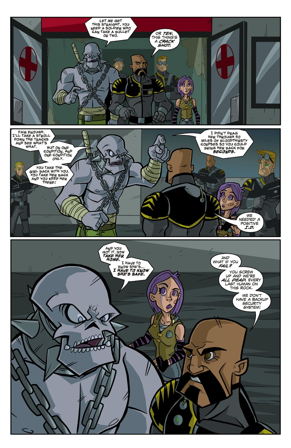 Read online Xombie Reanimated comic -  Issue #1 - 23