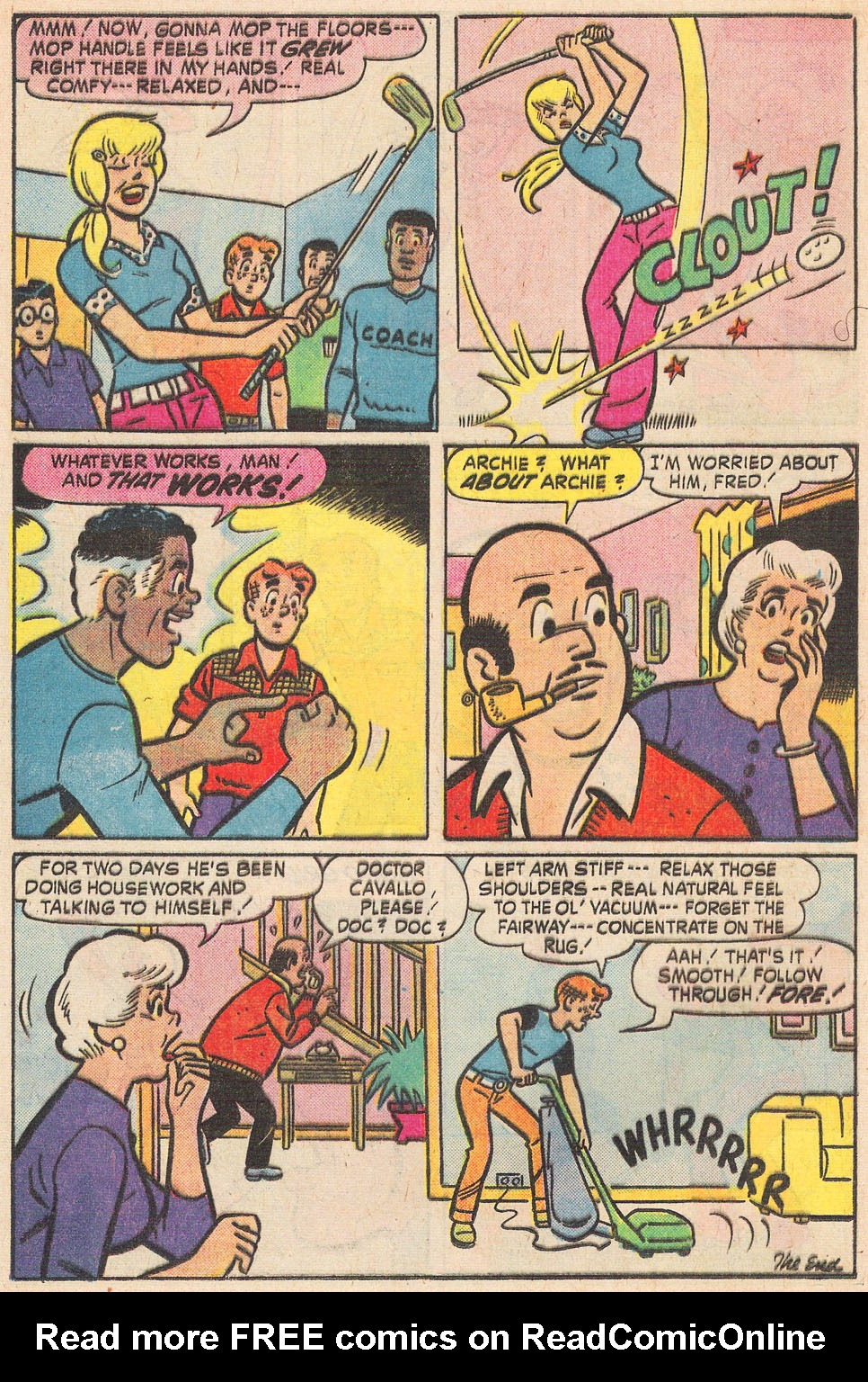 Read online Archie's Girls Betty and Veronica comic -  Issue #237 - 23