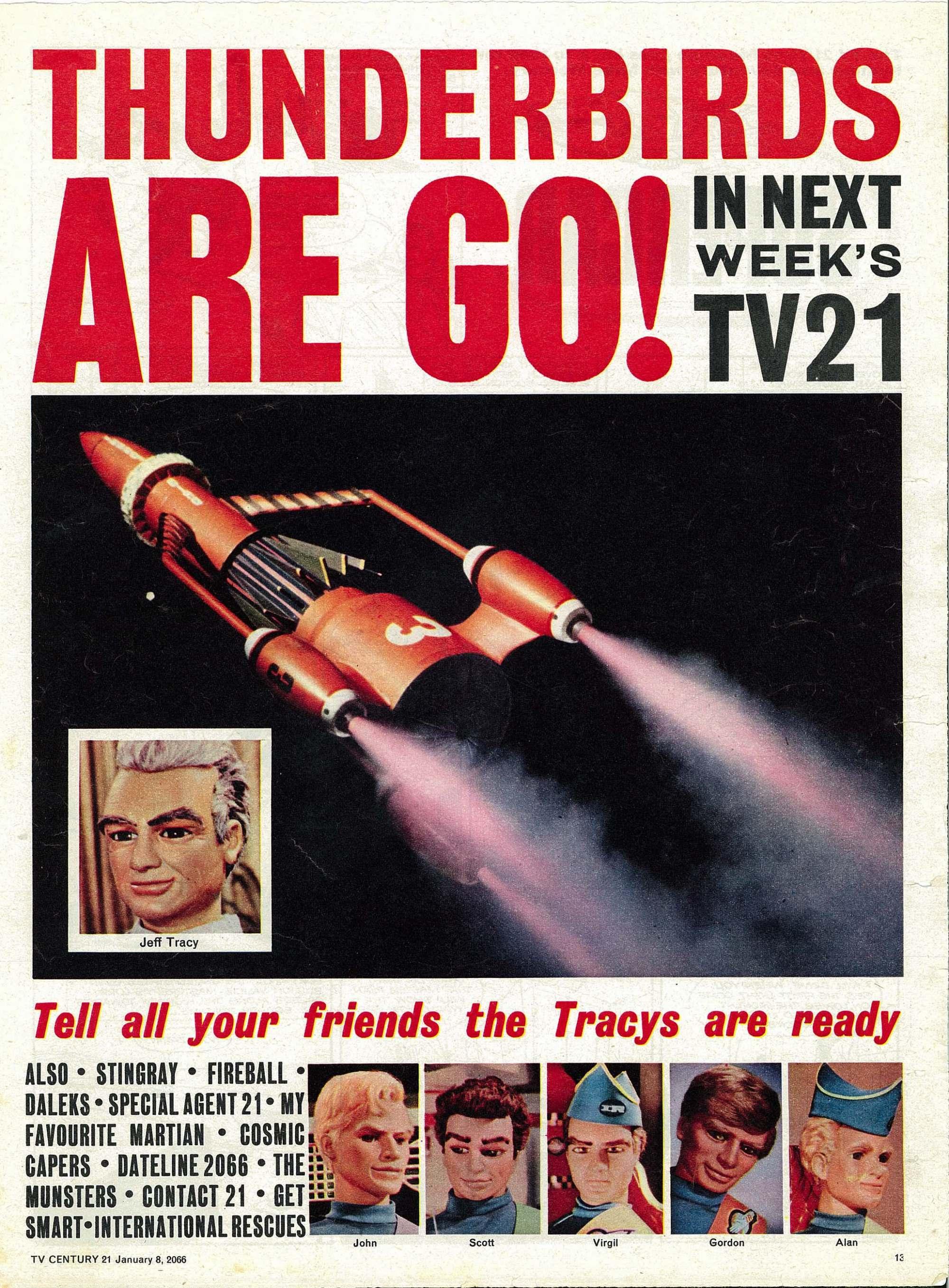 Read online TV Century 21 (TV 21) comic -  Issue #51 - 12