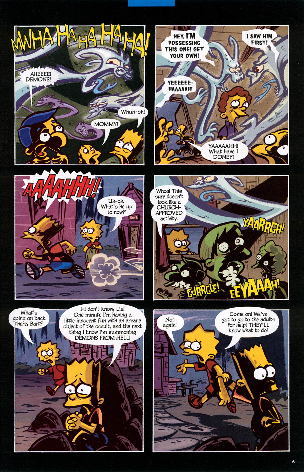 Read online Treehouse of Horror comic -  Issue #10 - 46