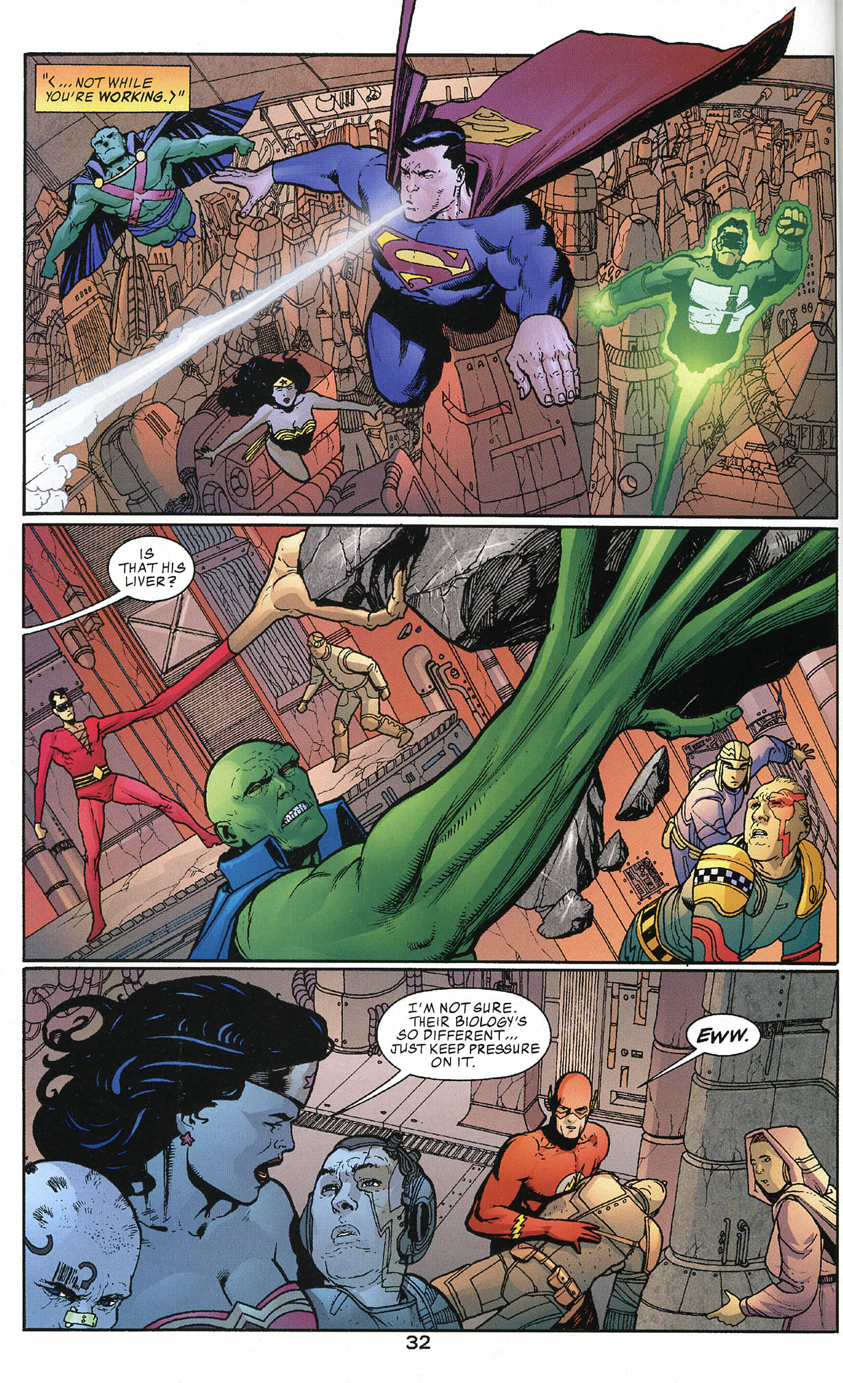Read online JLA/Haven: Arrival comic -  Issue # Full - 31