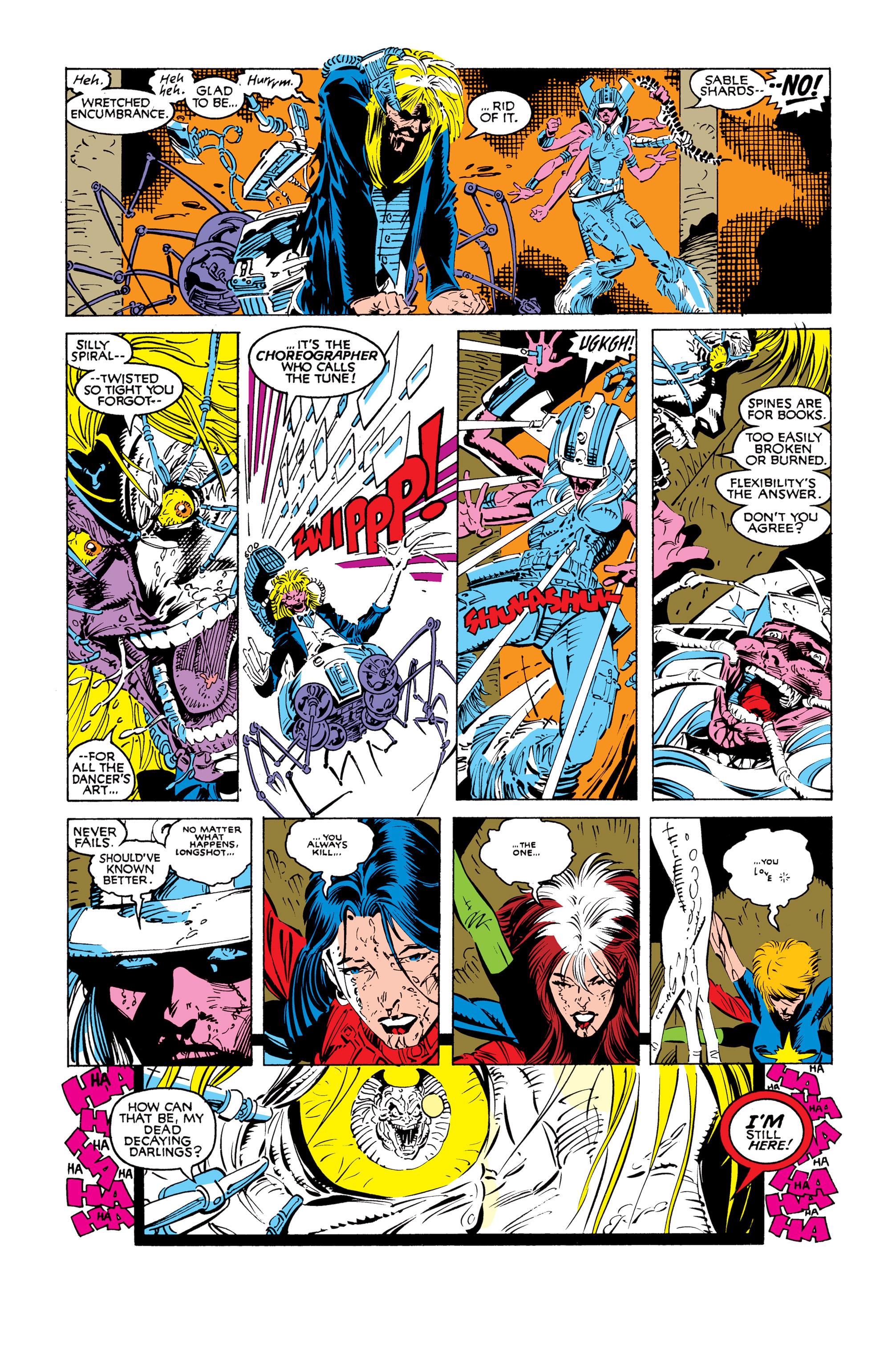 Read online Uncanny X-Men (1963) comic -  Issue #248 - 6