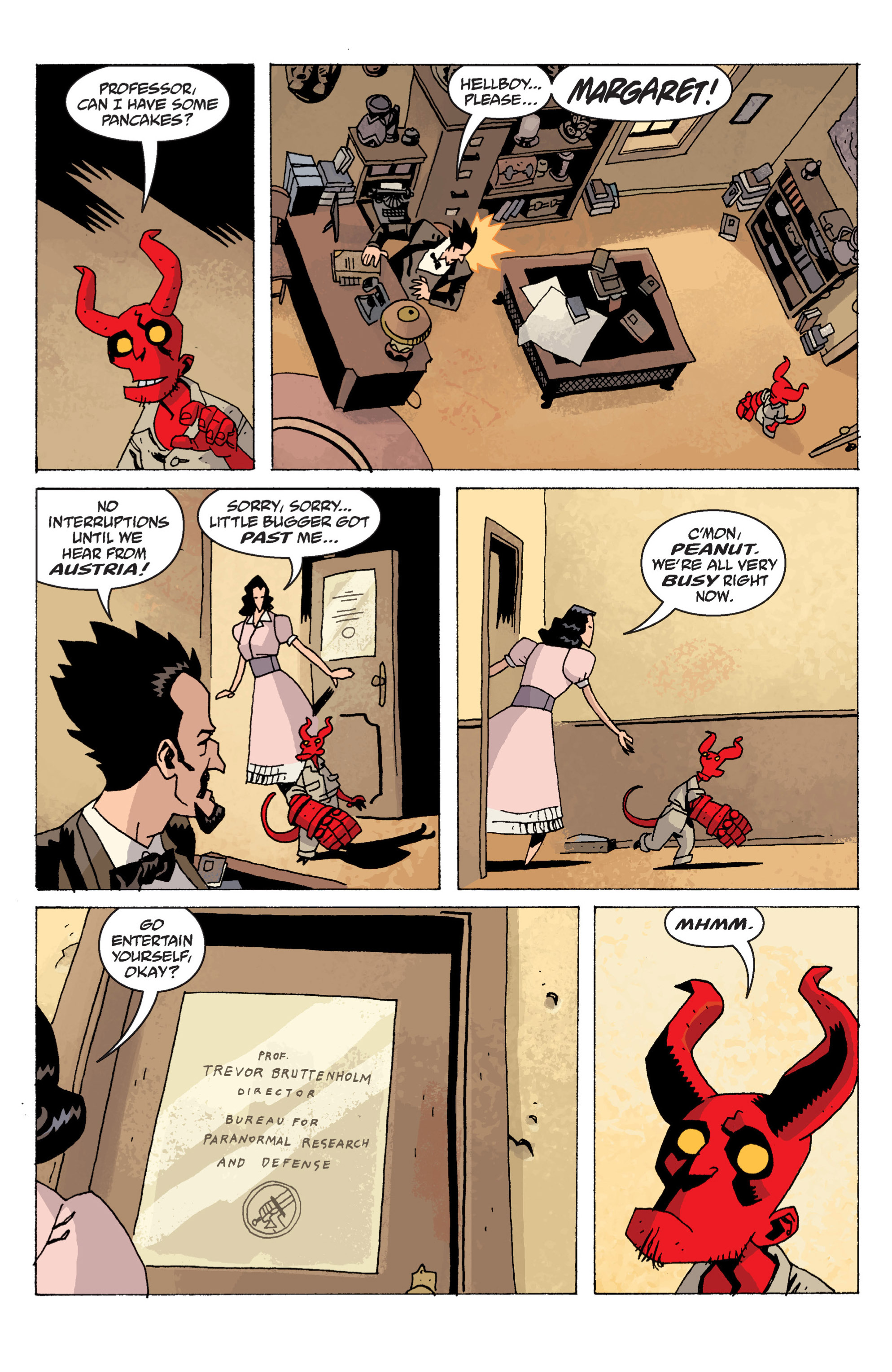 Read online B.P.R.D. (2003) comic -  Issue # TPB 13 - 97