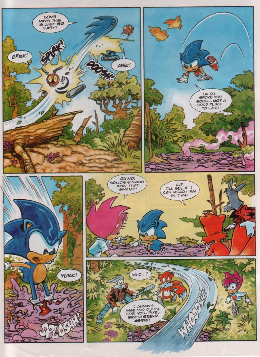 Read online Sonic the Comic comic -  Issue #86 - 25