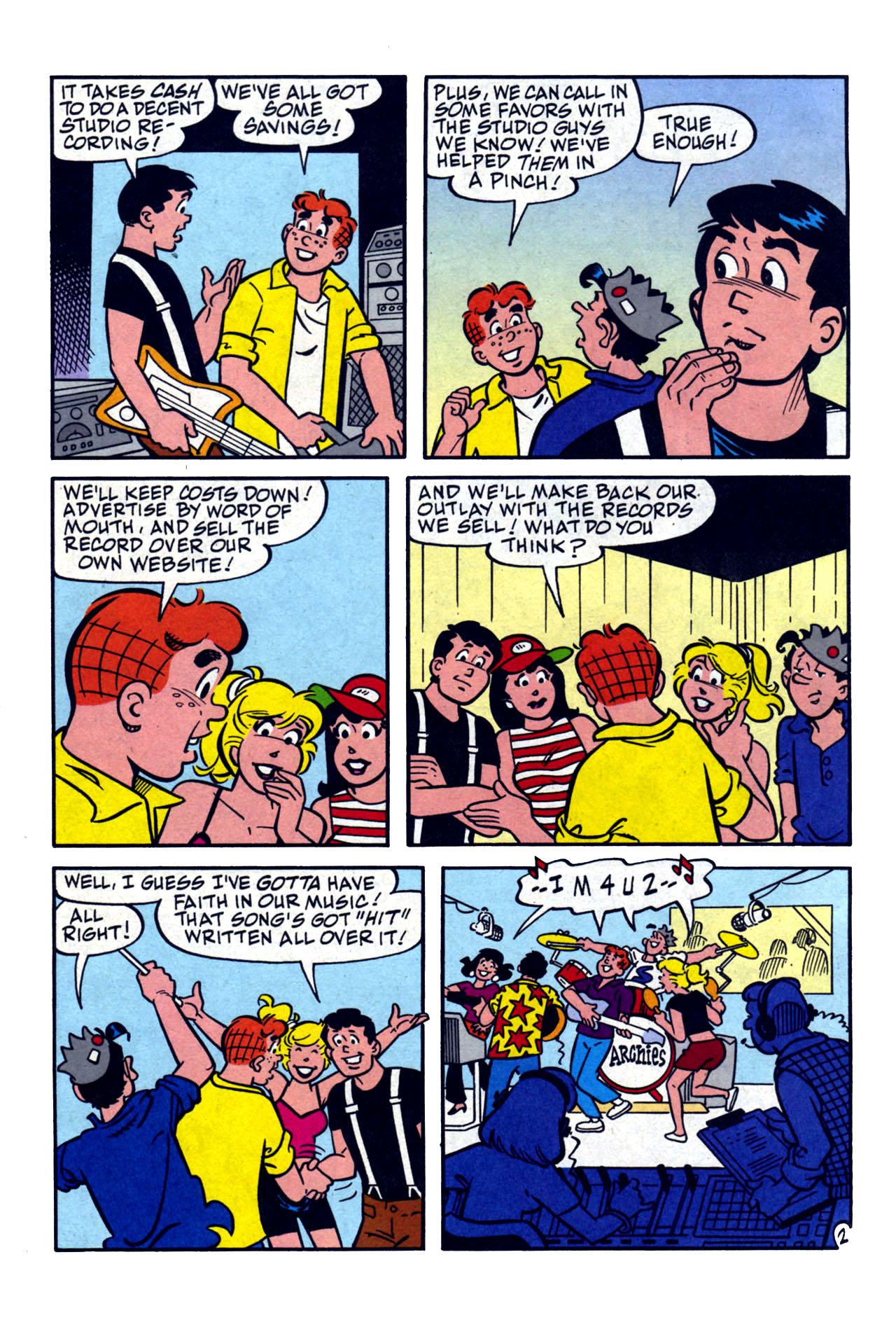 Read online Archie (1960) comic -  Issue #577 - 3