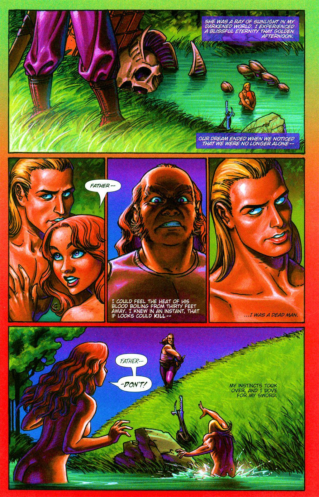 Read online Dawn: Three Tiers comic -  Issue #2 - 18