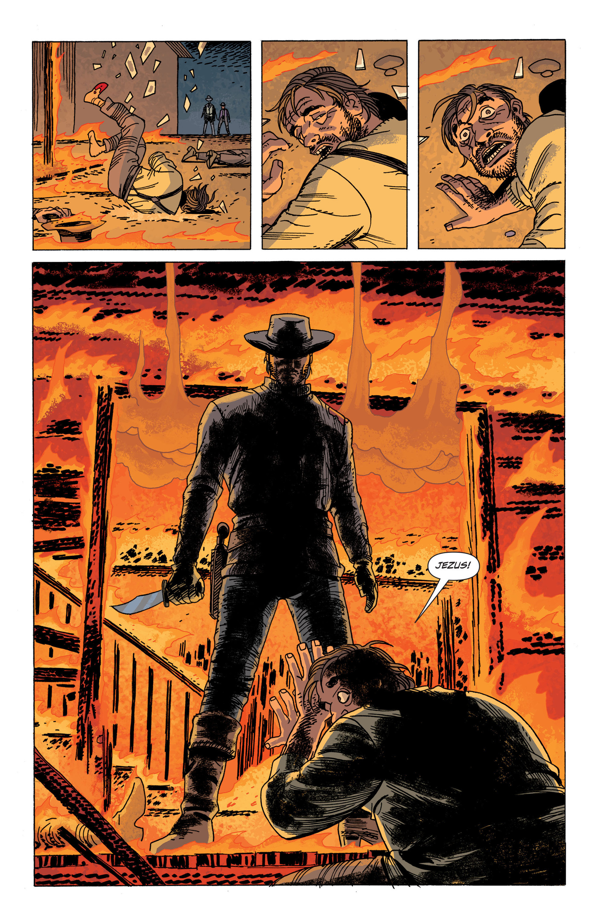 Read online All-Star Western (2011) comic -  Issue #34 - 16