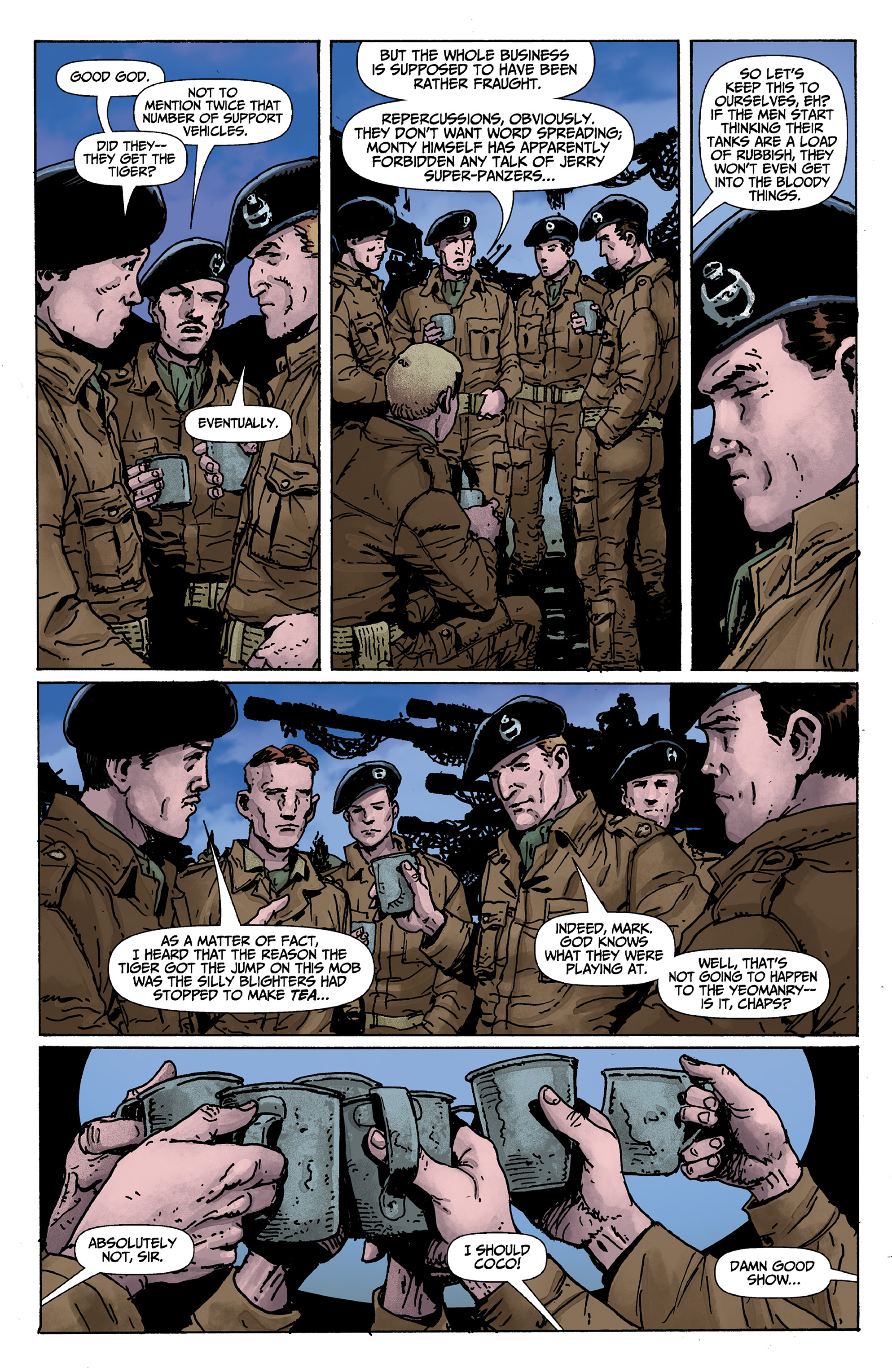 Read online World of Tanks comic -  Issue #1 - 13