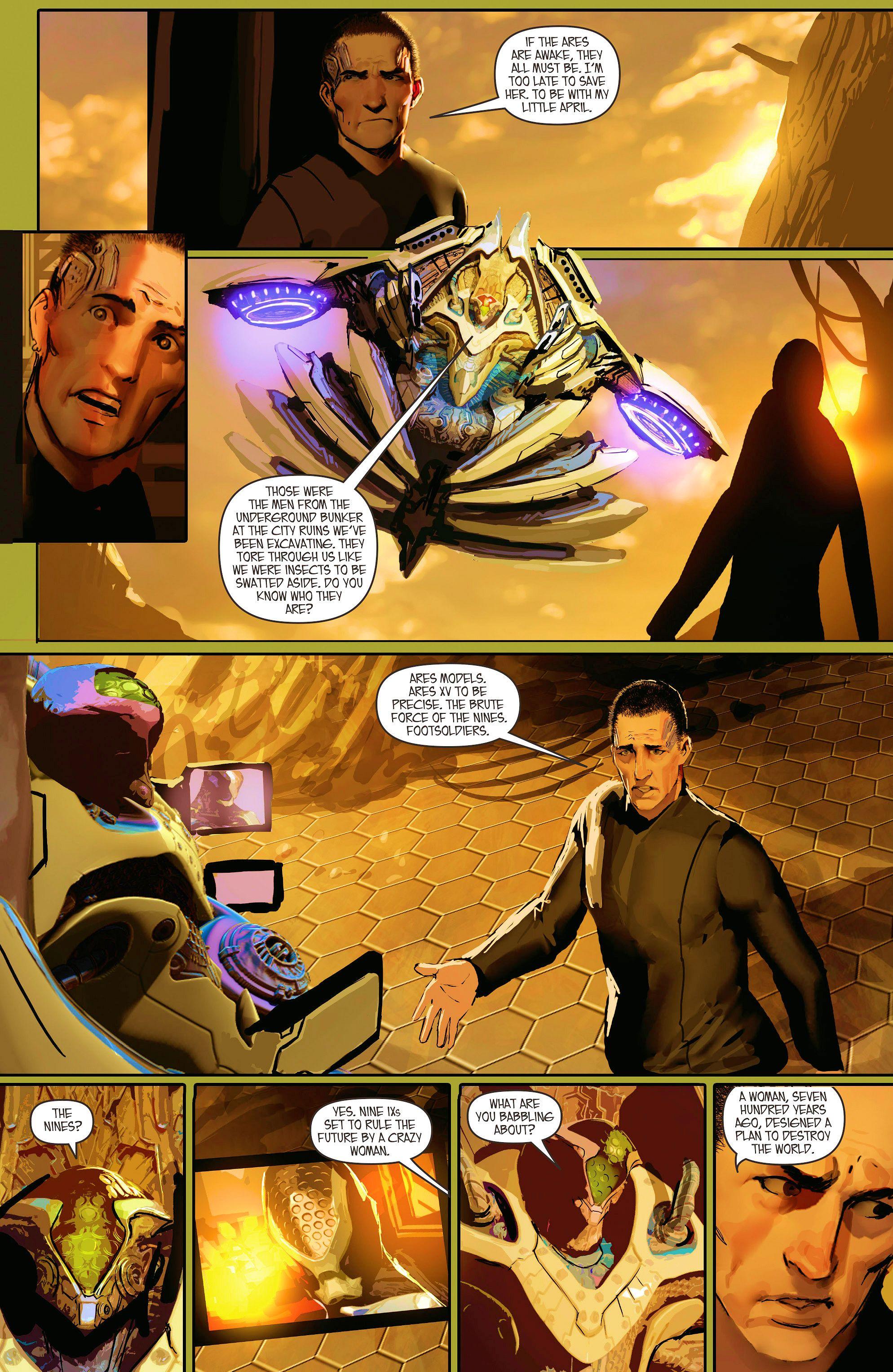 Read online Aphrodite IX (2013) comic -  Issue #10 - 19