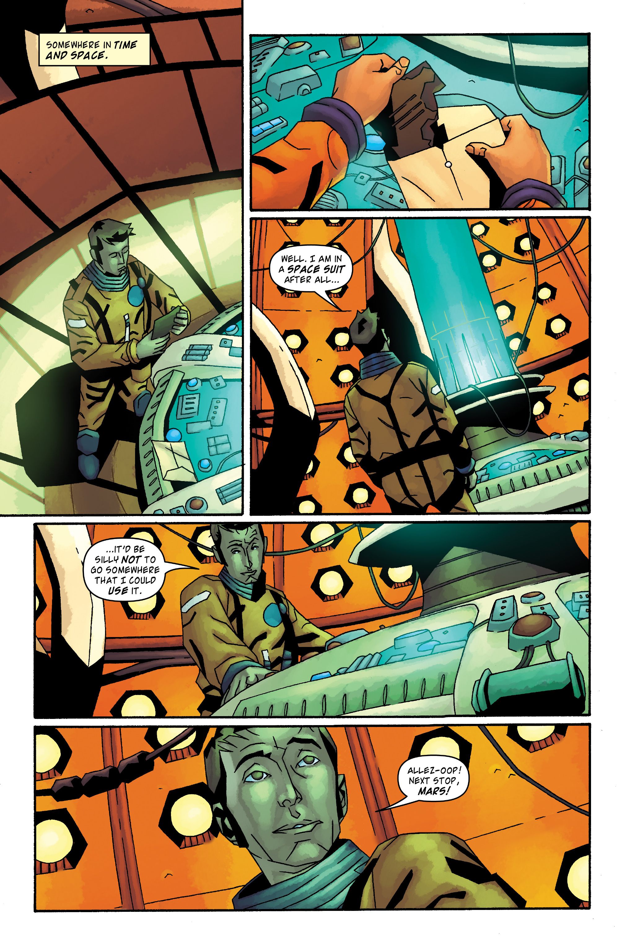 Read online Doctor Who: The Tenth Doctor Archives comic -  Issue #34 - 23