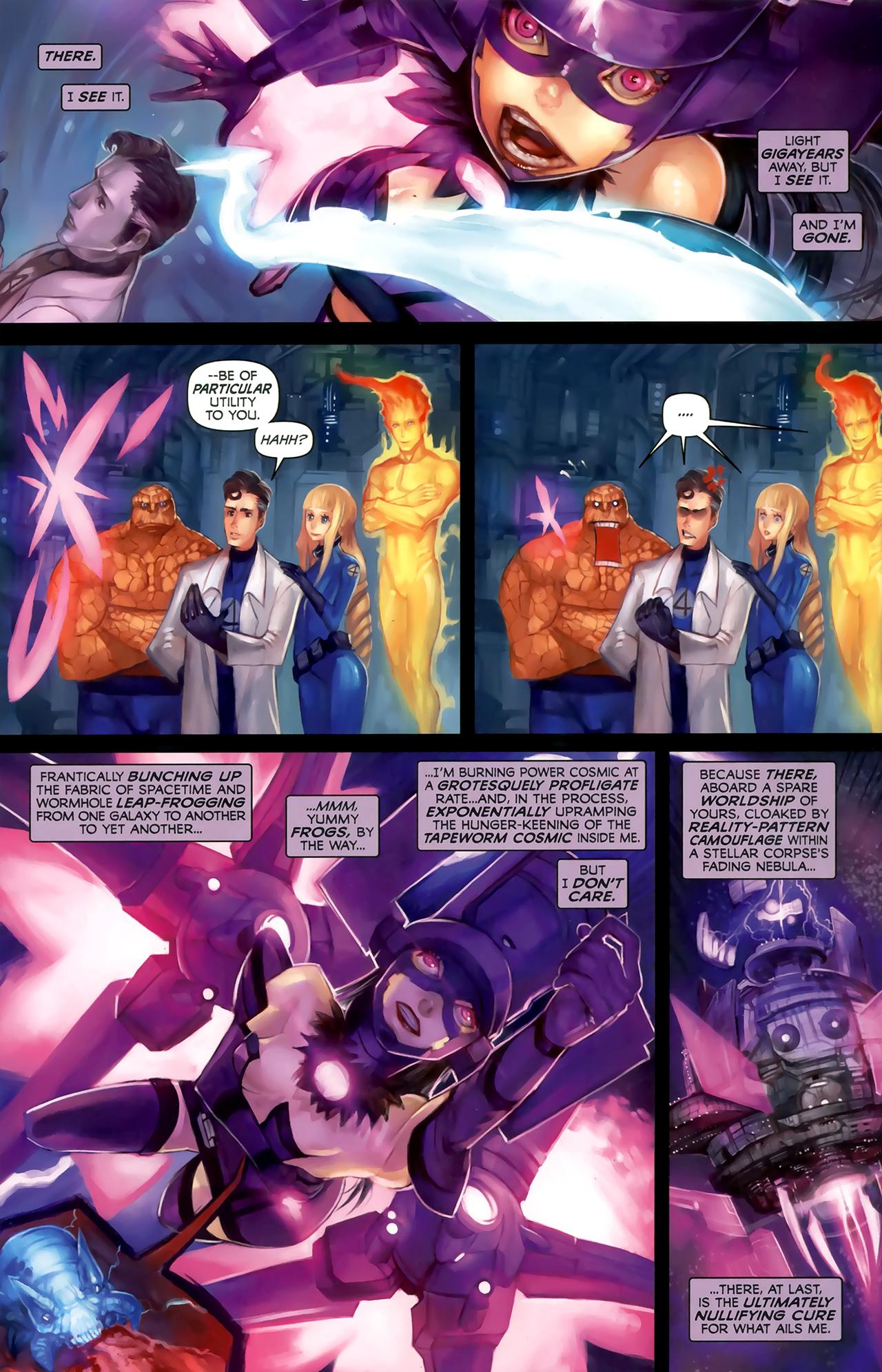 Read online Galacta: Daughter of Galactus comic -  Issue # Full - 28