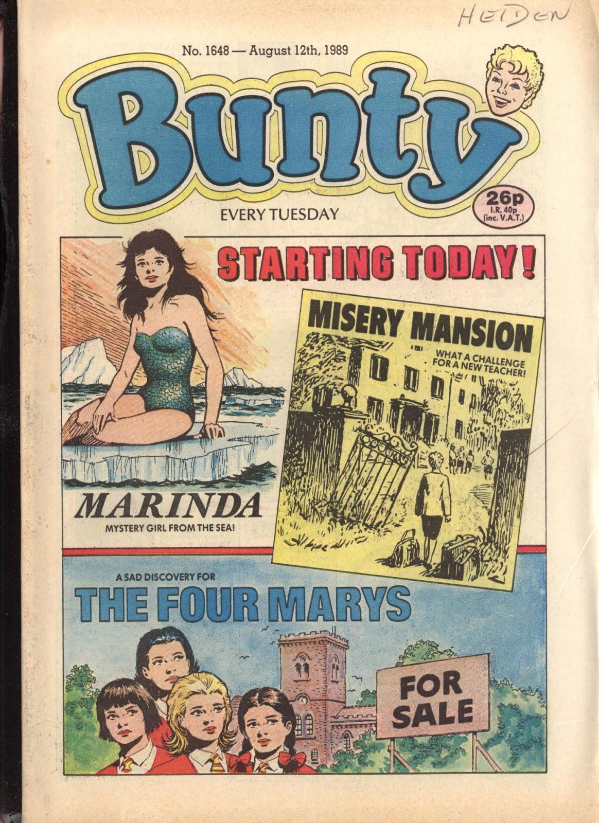 Bunty 1648 Page 1