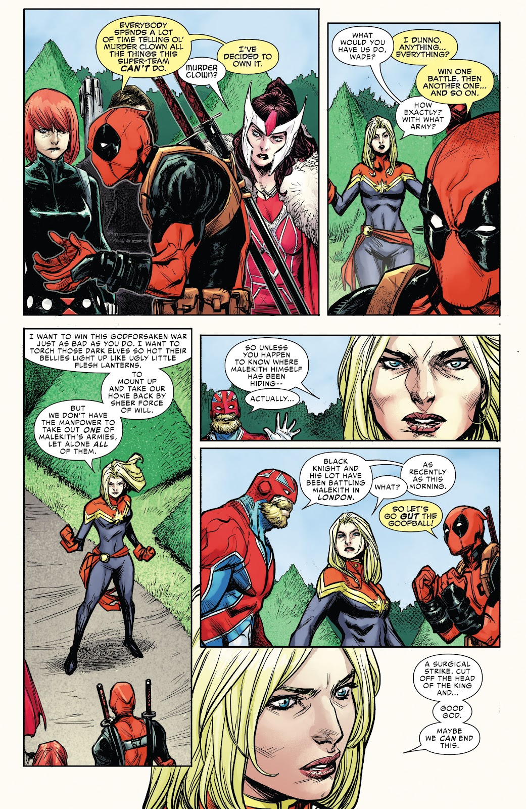 Read online War of the Realms Strikeforce: The War Avengers comic -  Issue # Full - 22