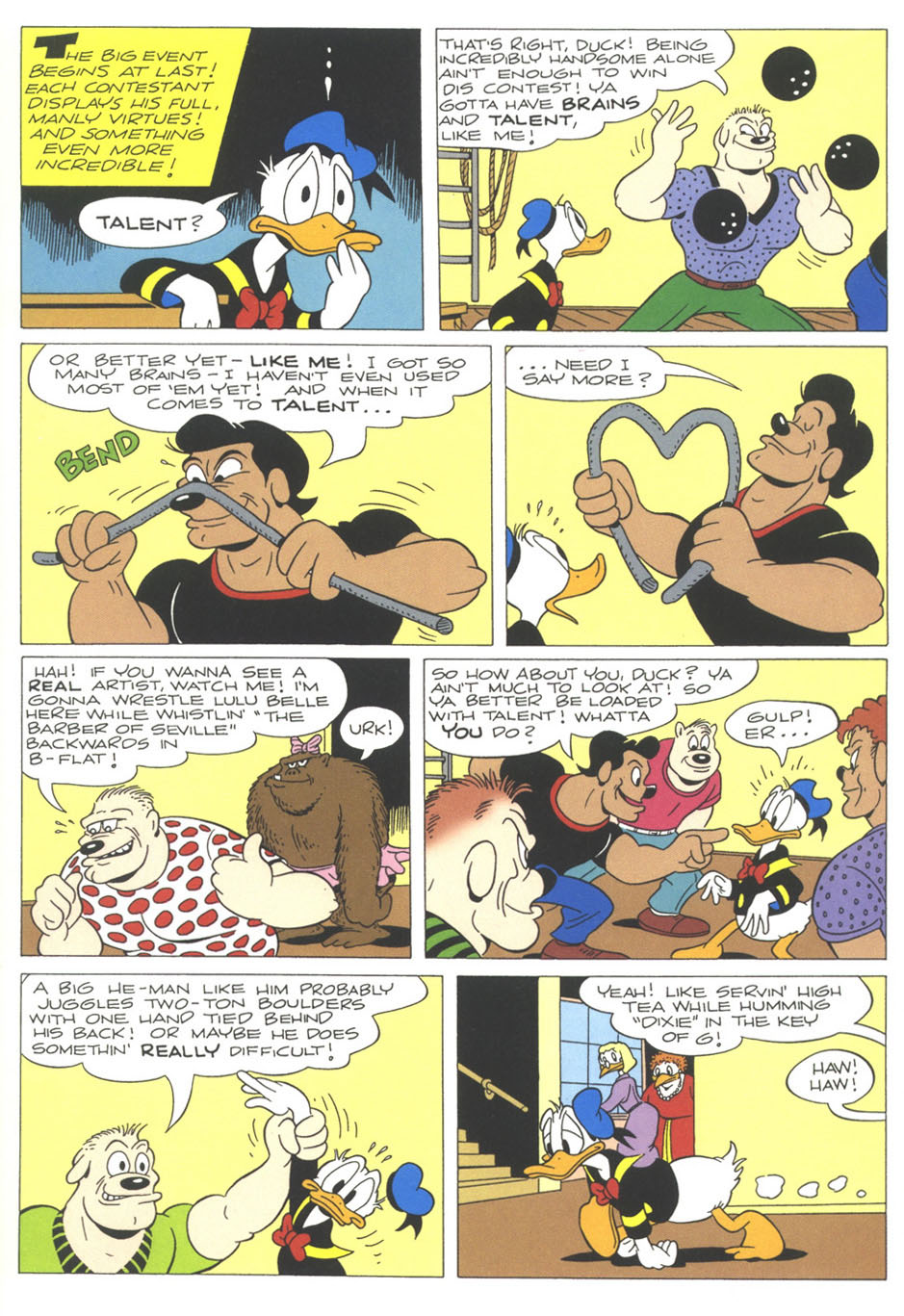 Walt Disney's Comics and Stories issue 611 - Page 11