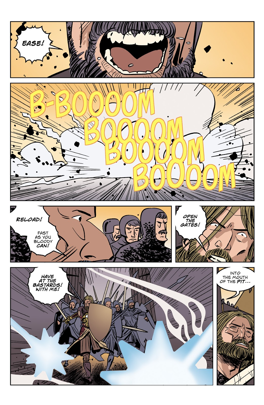 Read online Dark Ages comic -  Issue #4 - 7