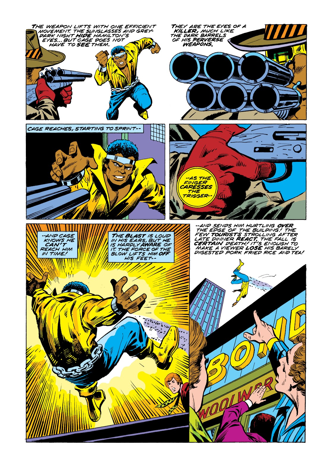 Read online Marvel Masterworks: Luke Cage, Power Man comic -  Issue # TPB 2 (Part 3) - 23