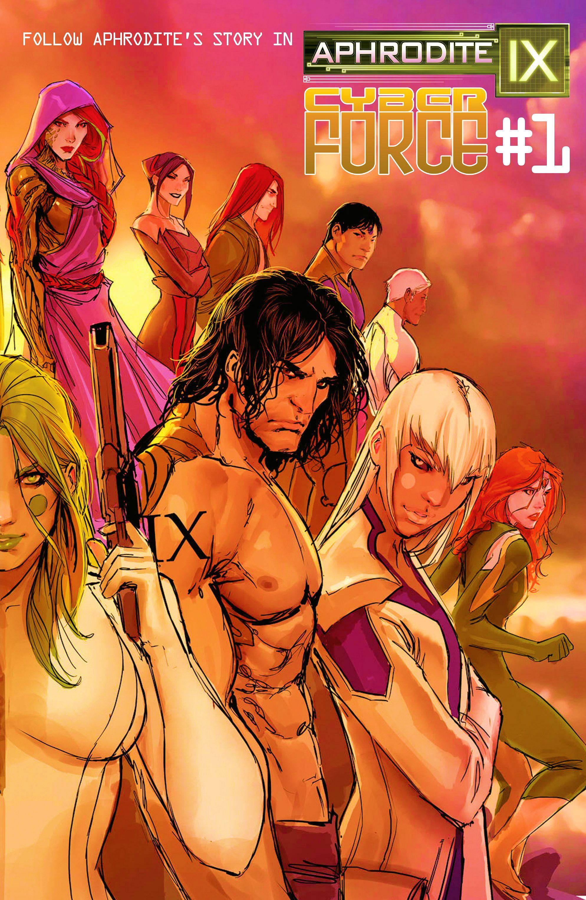 Read online Aphrodite IX (2013) comic -  Issue #11 - 27