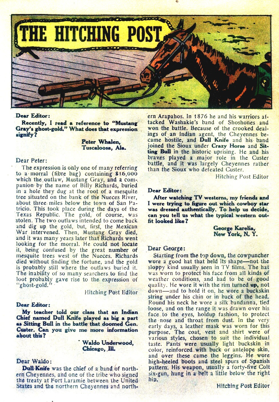 Read online All-Star Western (1951) comic -  Issue #111 - 24