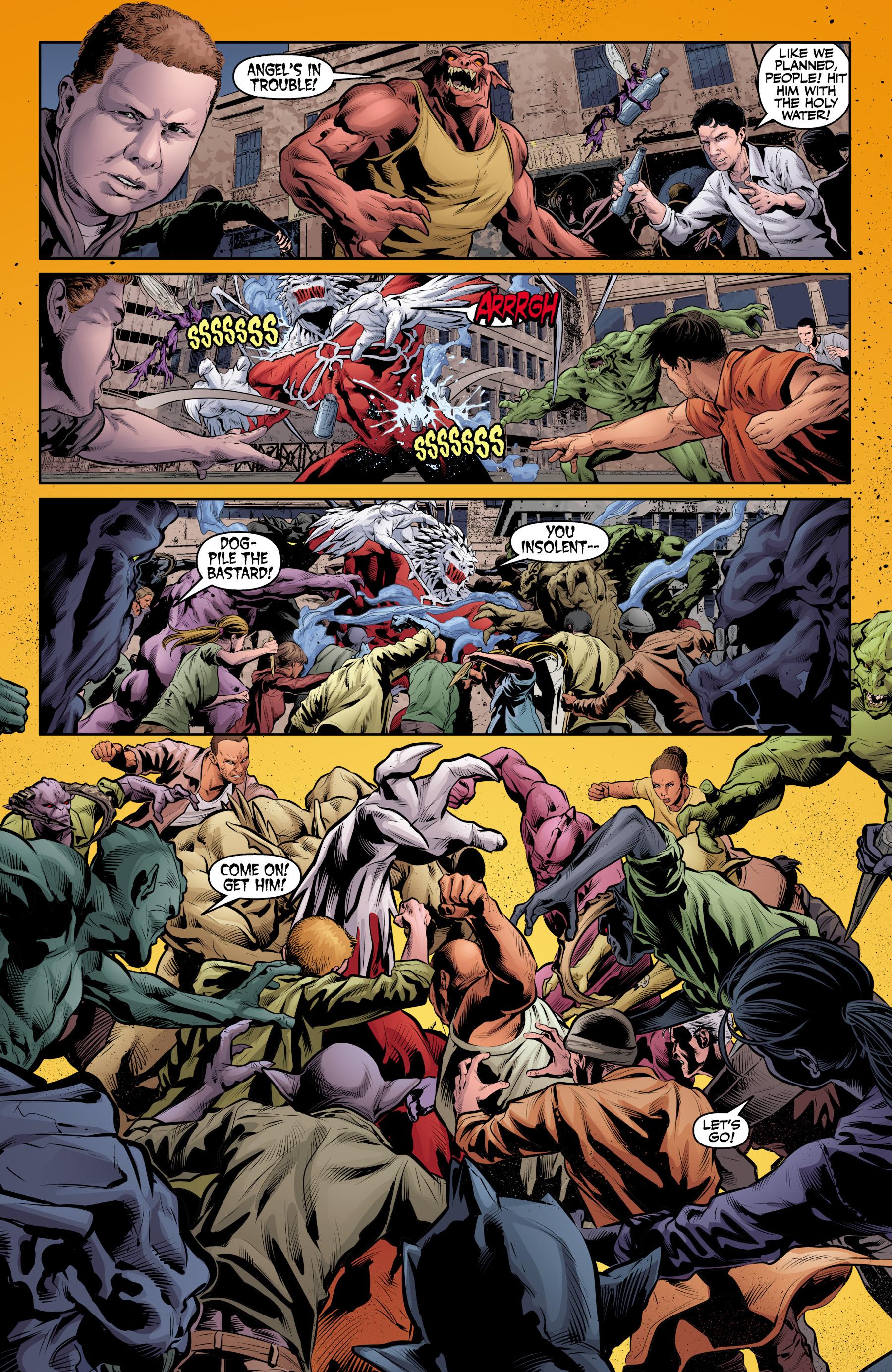 Read online Angel & Faith Season 10 comic -  Issue #25 - 8