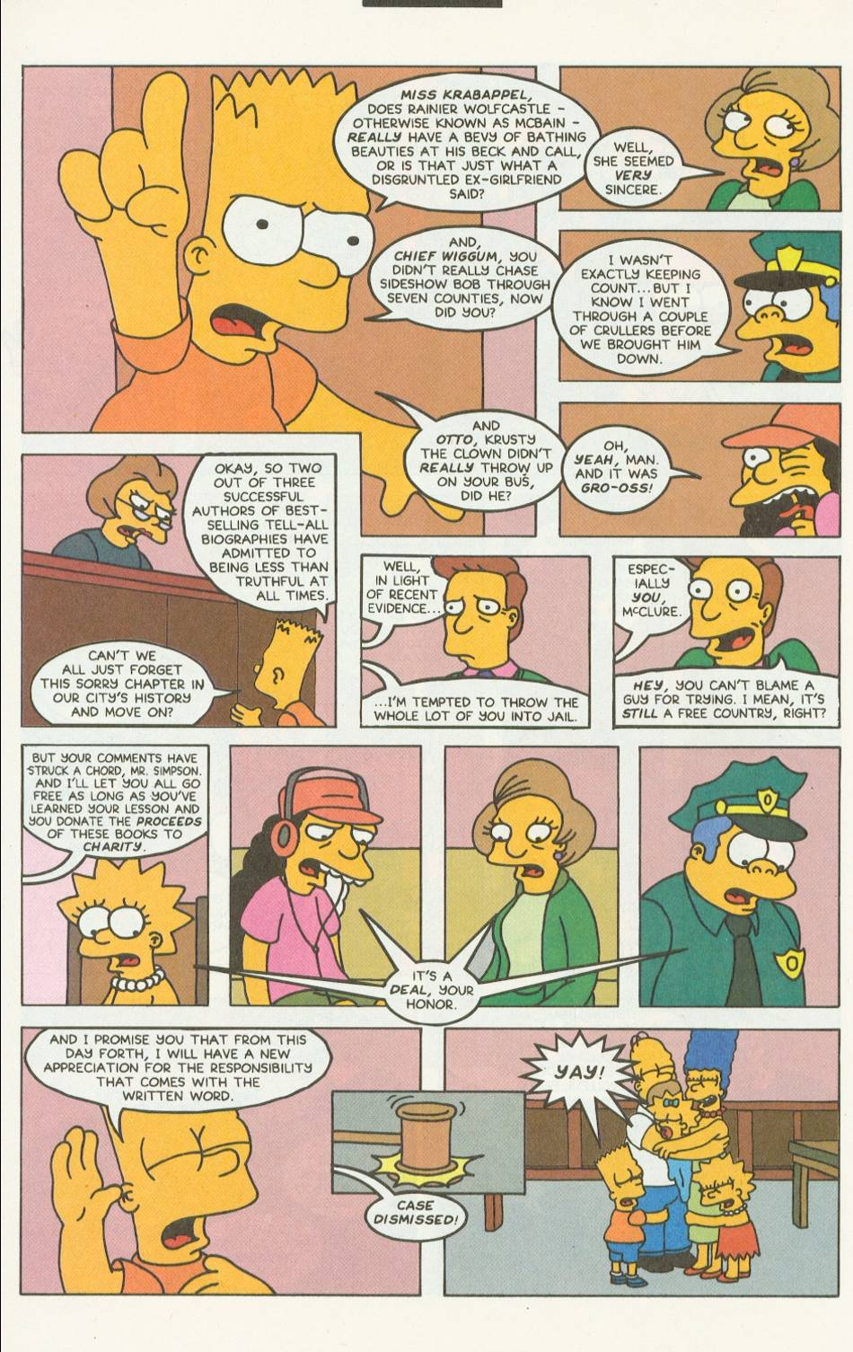 Read online Simpsons Comics comic -  Issue #9 - 21
