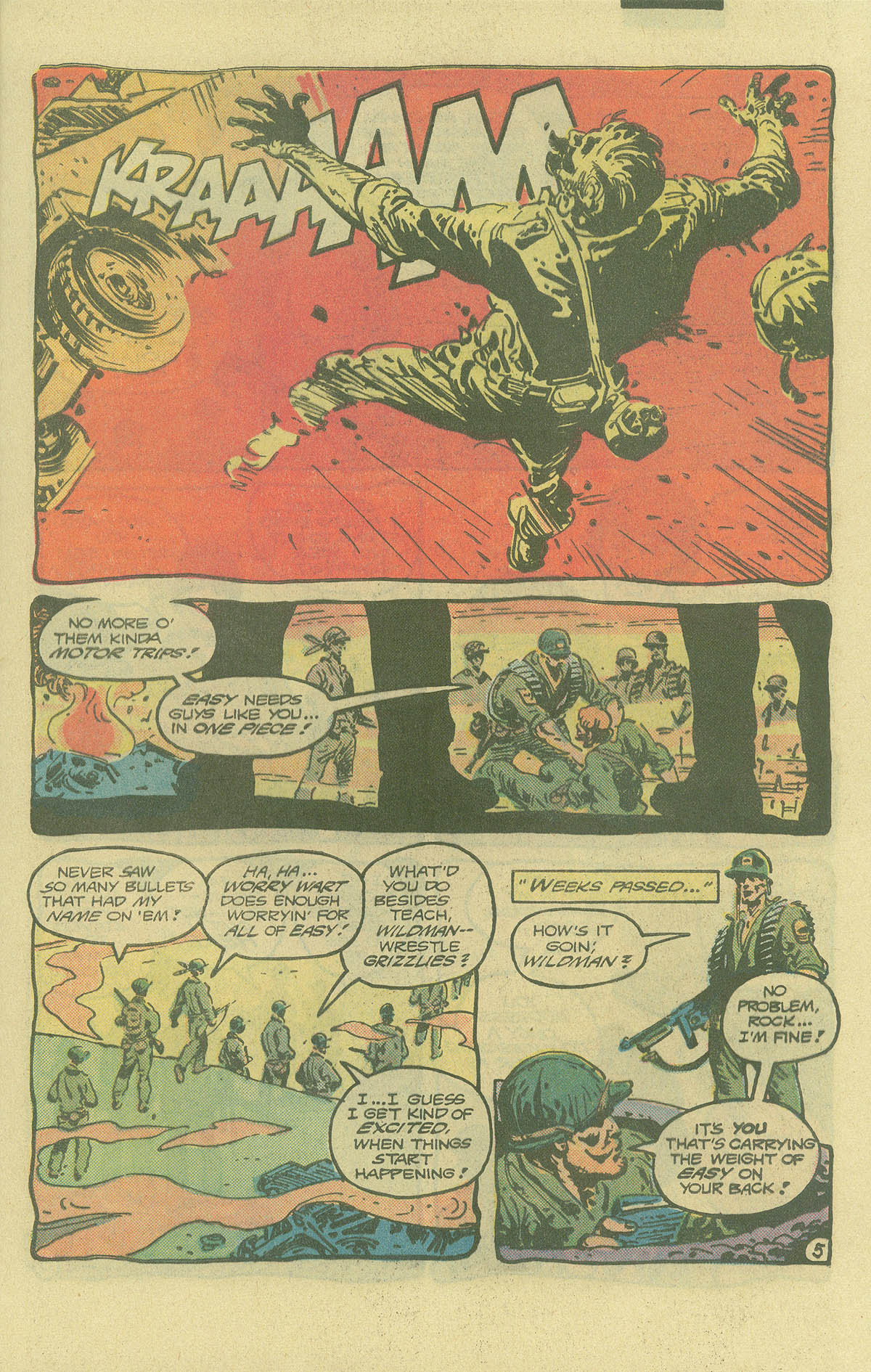 Read online Sgt. Rock comic -  Issue #402 - 8