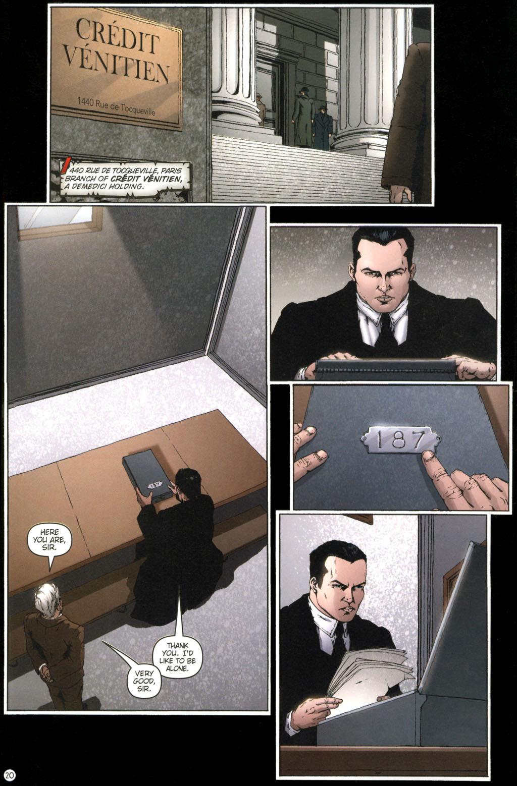 Read online Rex Mundi comic -  Issue #11 - 24