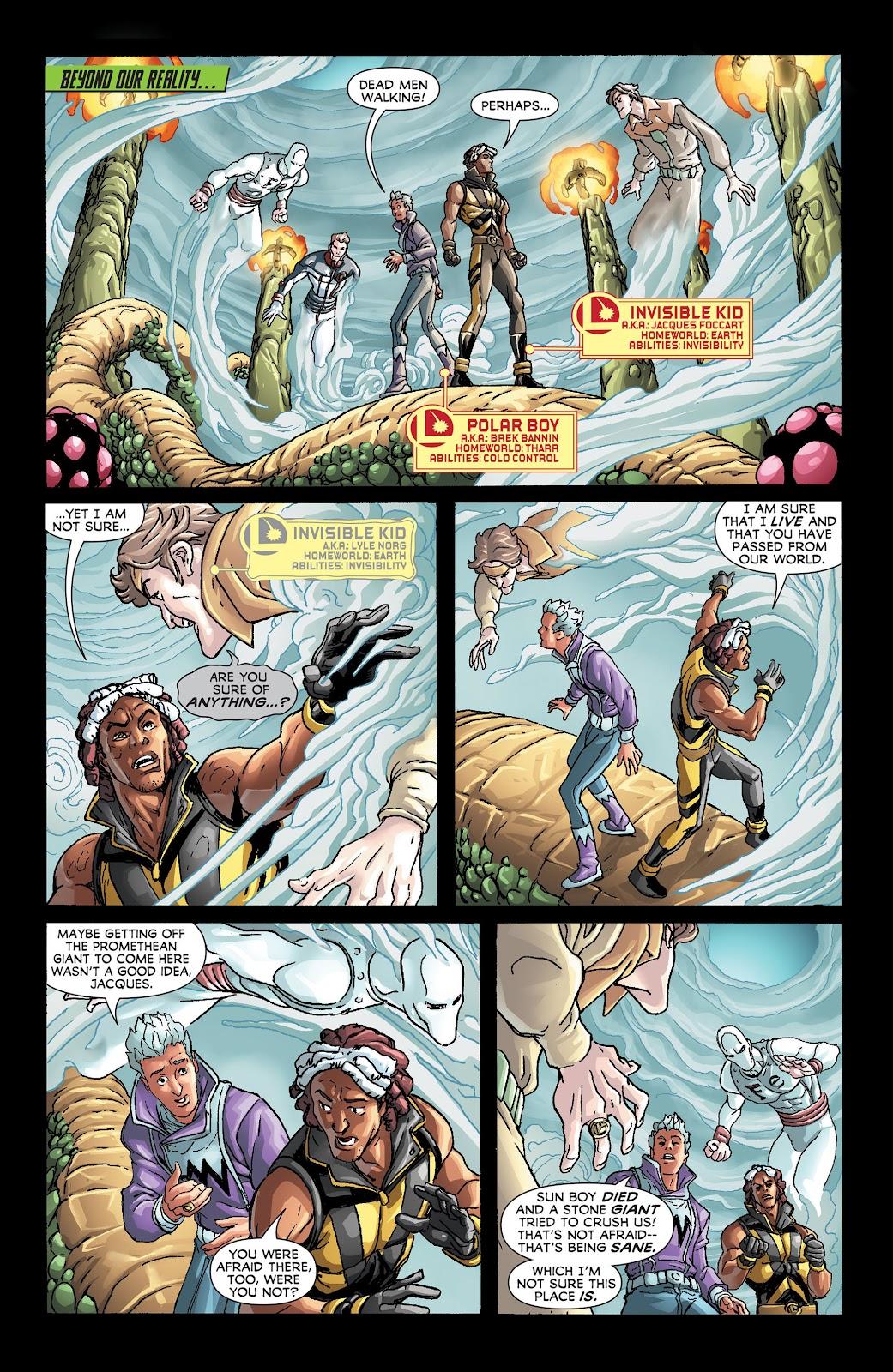 Legion of Super-Heroes (2011) Issue #21 #22 - English 10