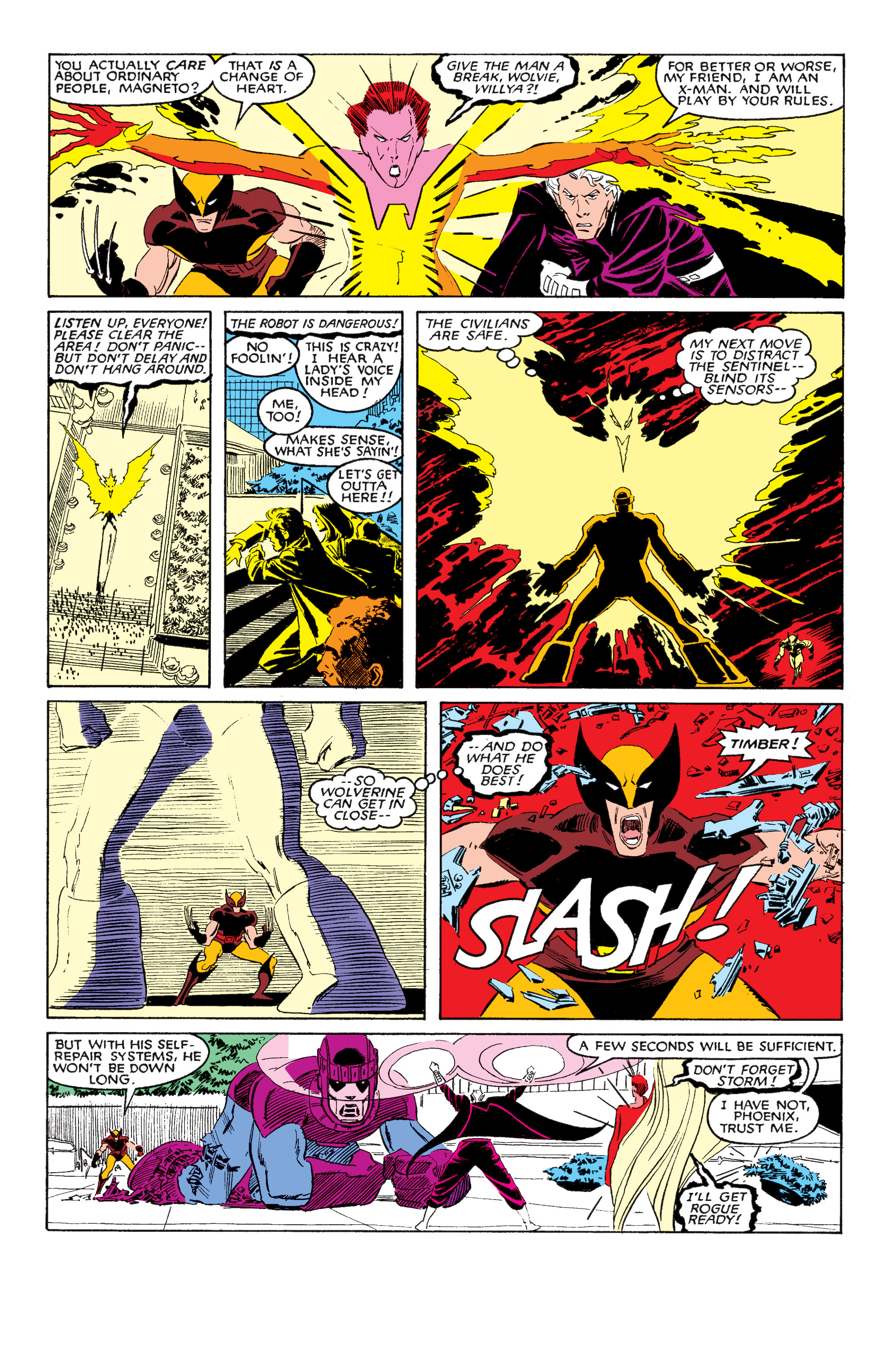 Read online Uncanny X-Men (1963) comic -  Issue #202 - 21
