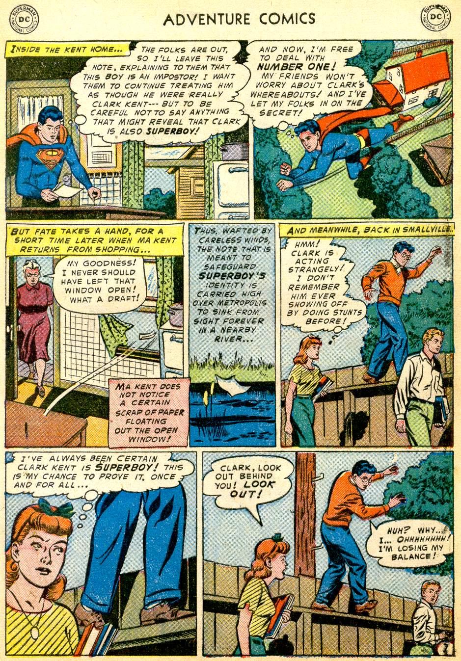 Read online Adventure Comics (1938) comic -  Issue #191 - 9