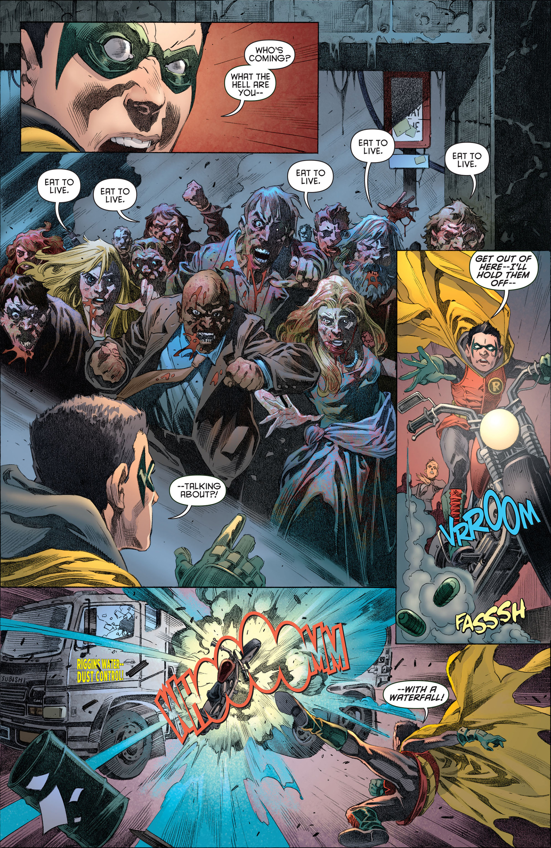 Read online Batman and Robin (2011) comic -  Issue #13 - 18