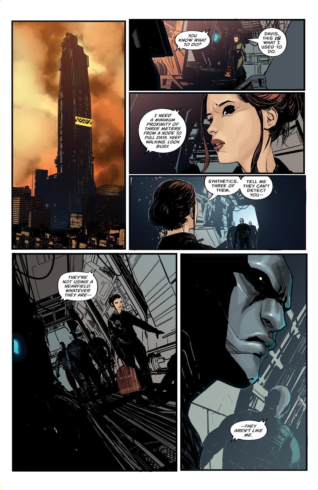 Read online Aliens: Resistance comic -  Issue #1 - 11