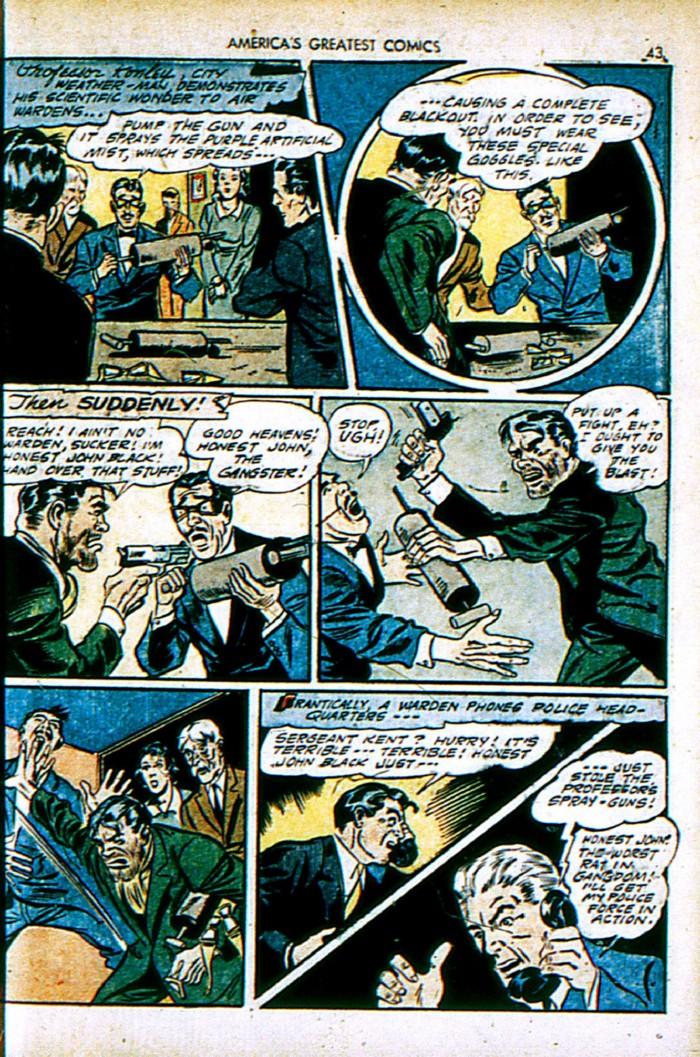 Read online America's Greatest Comics comic -  Issue #4 - 43