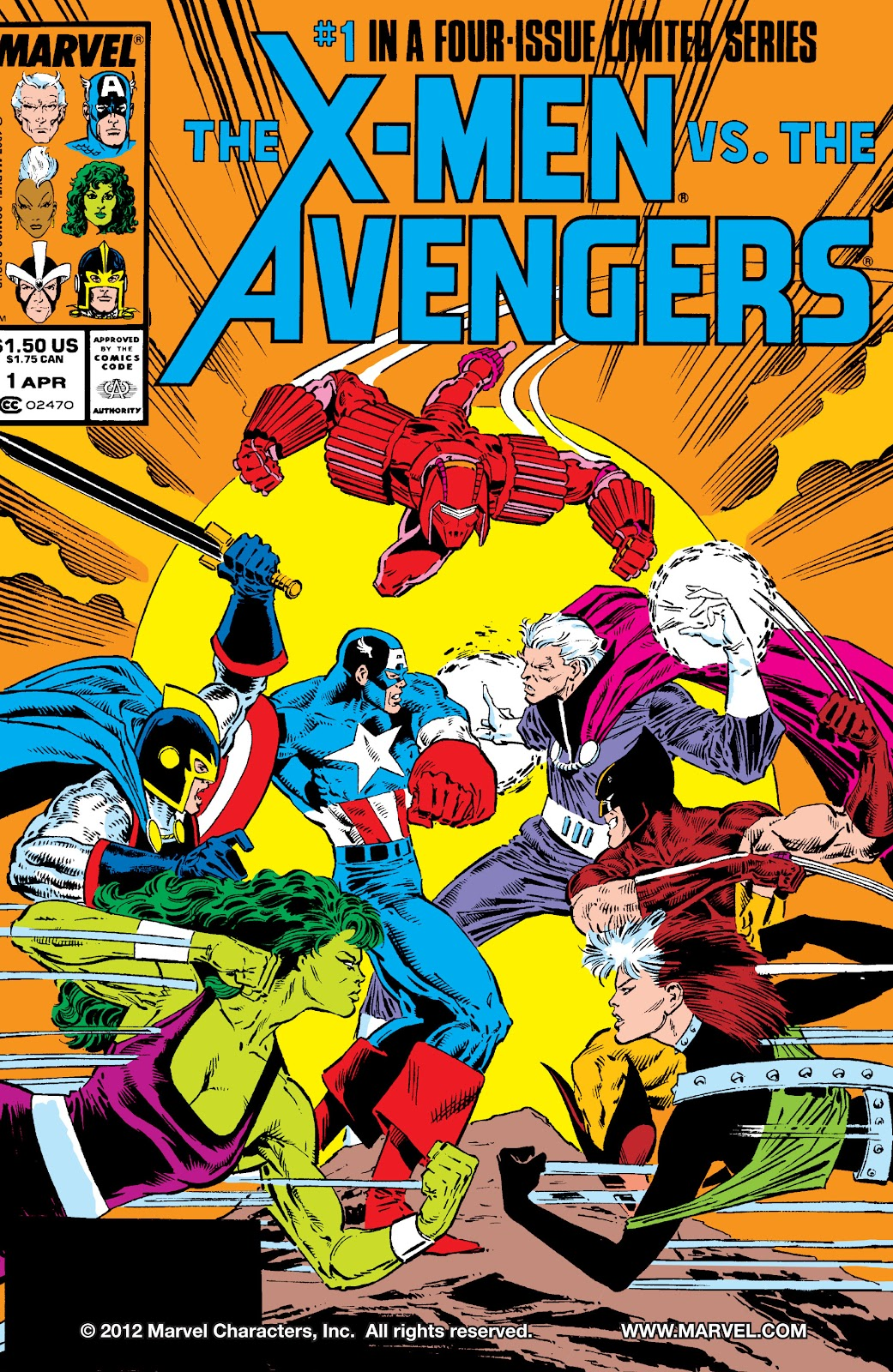 The X-Men vs. the Avengers 1 Page 1