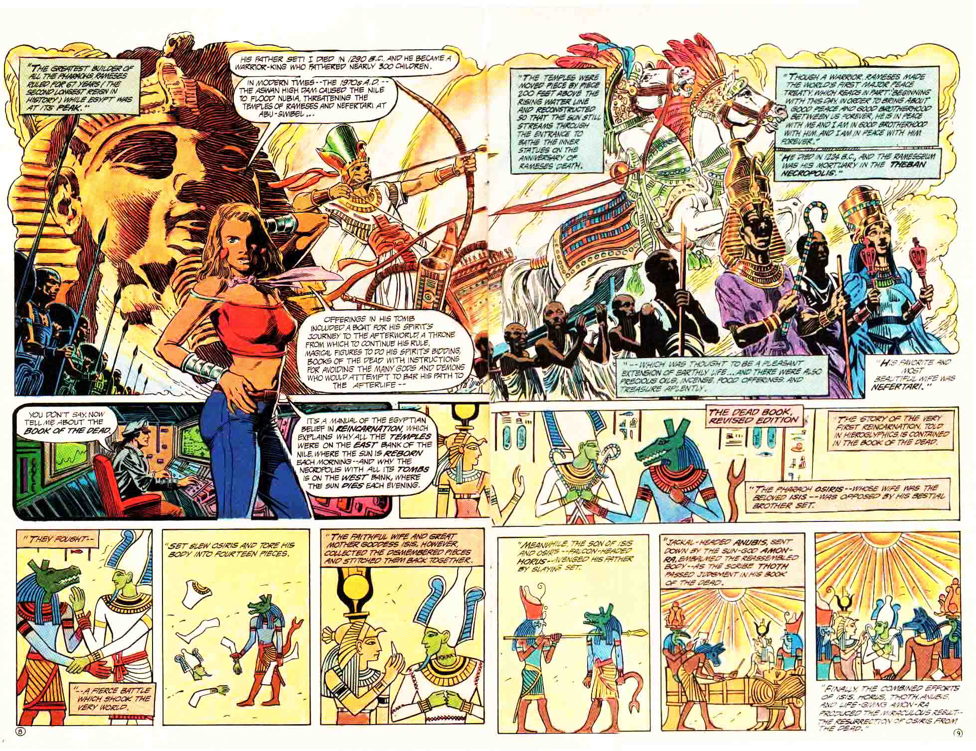 Read online Aztec Ace comic -  Issue #4 - 11