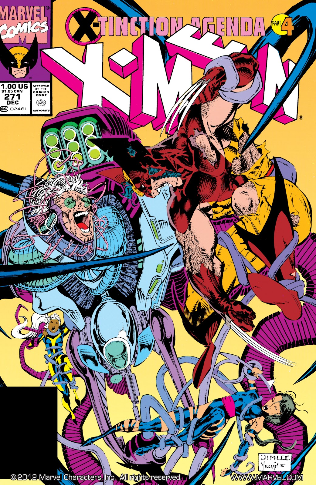 Uncanny X-Men (1963) issue 271 - Page 1