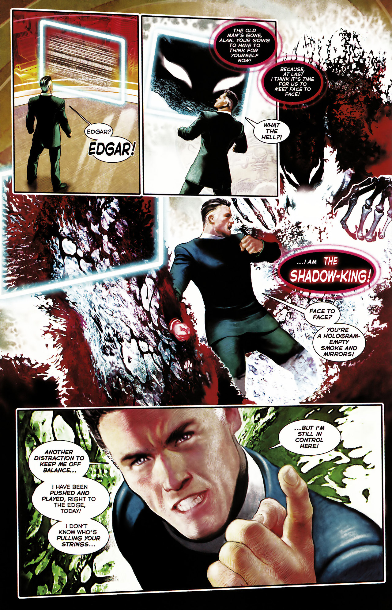 Read online Shark-Man comic -  Issue #1 - 25