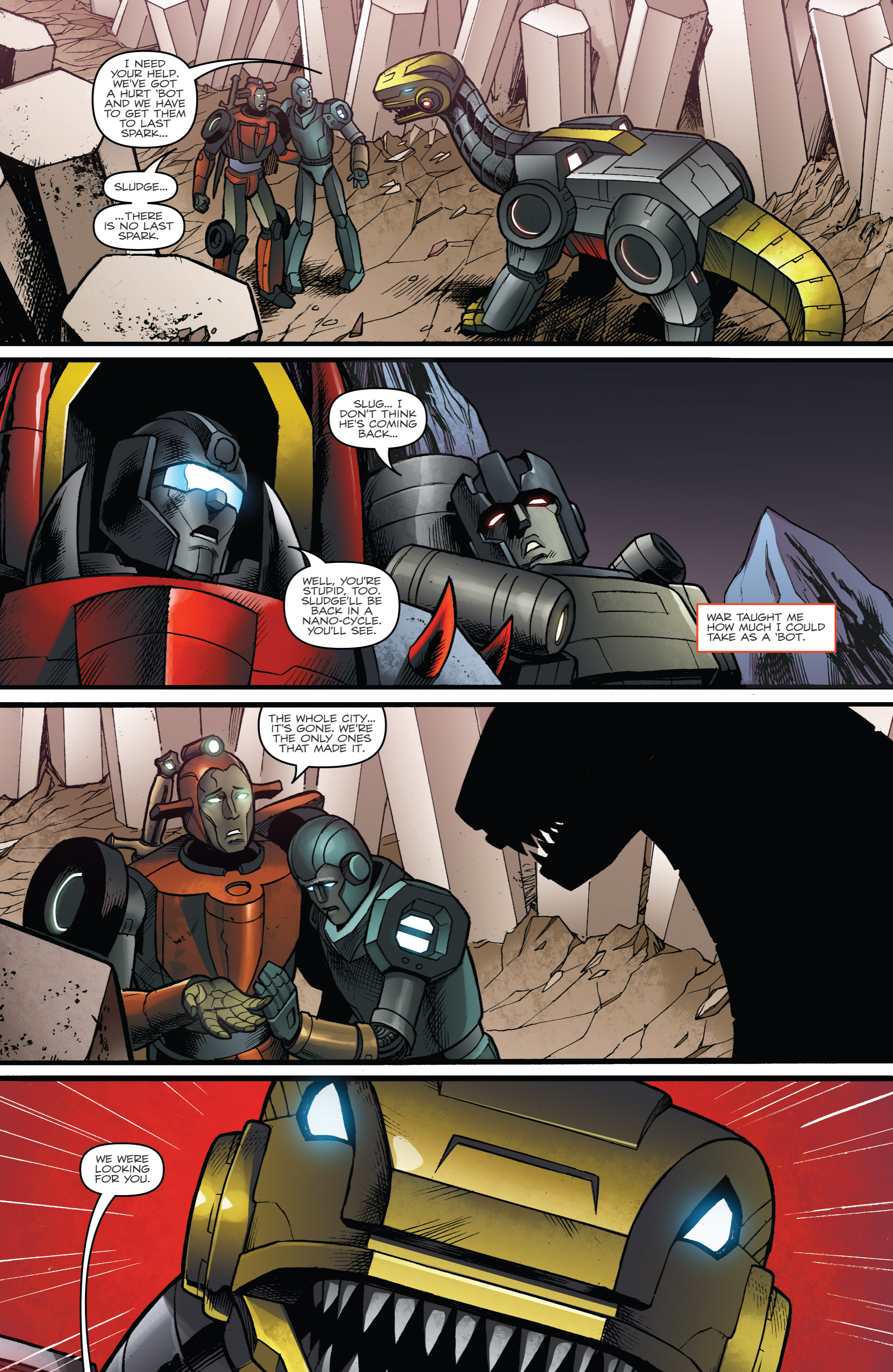 Read online Transformers Prime: Beast Hunters comic -  Issue #6 - 22