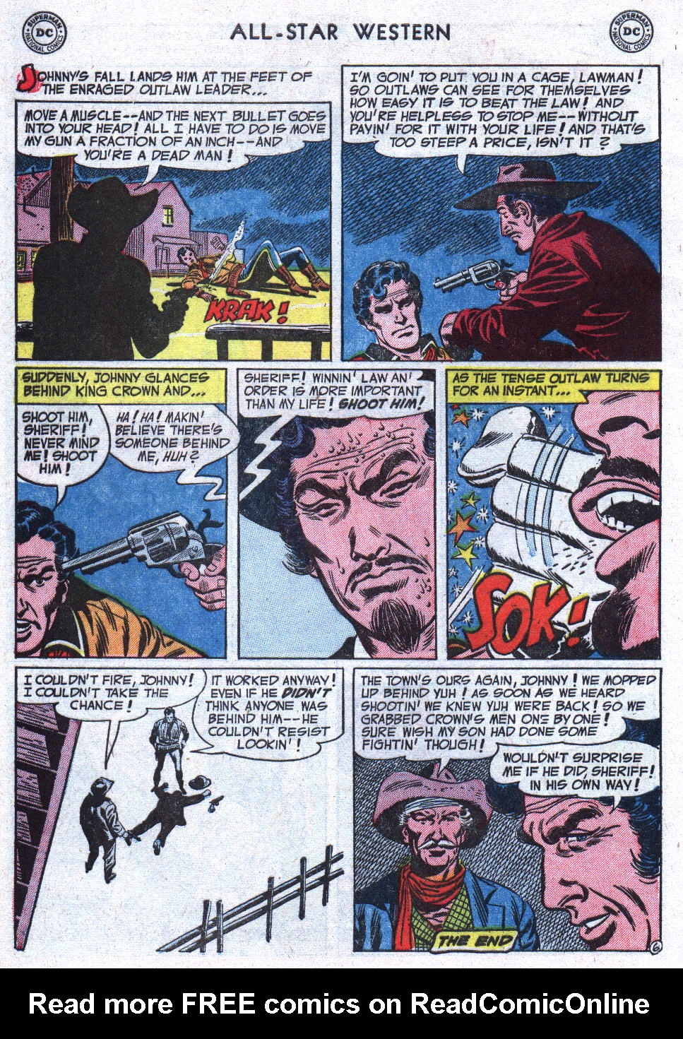 Read online All-Star Western (1951) comic -  Issue #71 - 8