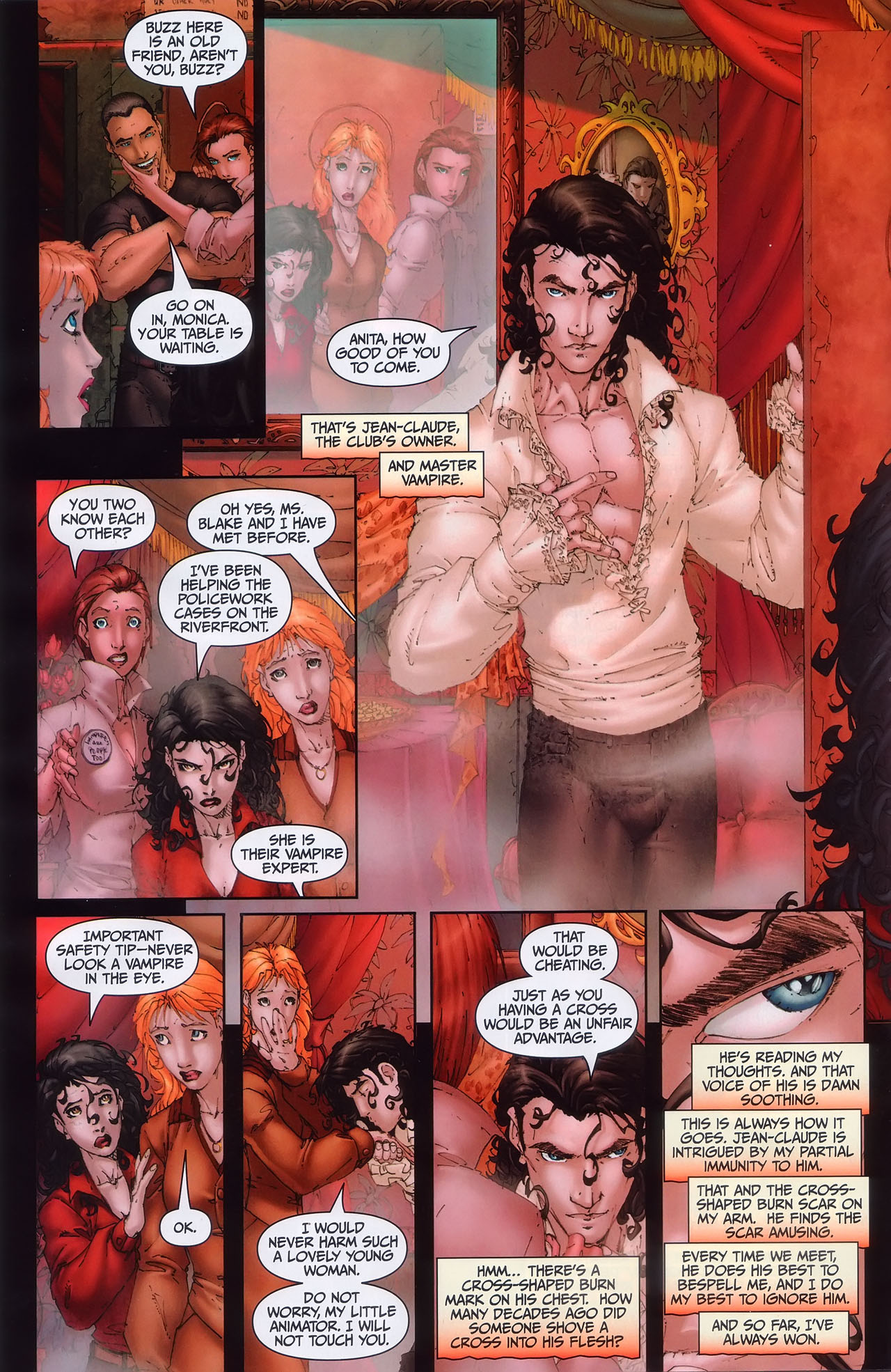 Read online Anita Blake, Vampire Hunter: Guilty Pleasures comic -  Issue #1 - 11