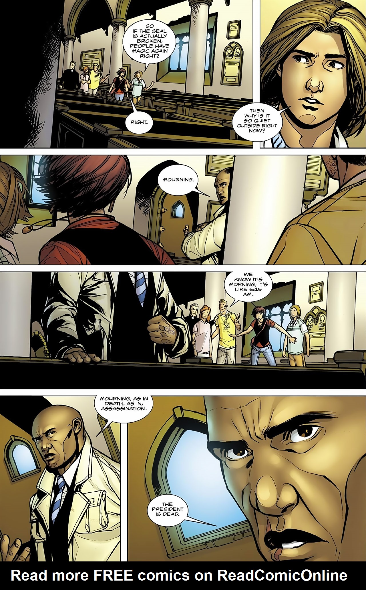 Read online Magus comic -  Issue #4 - 8
