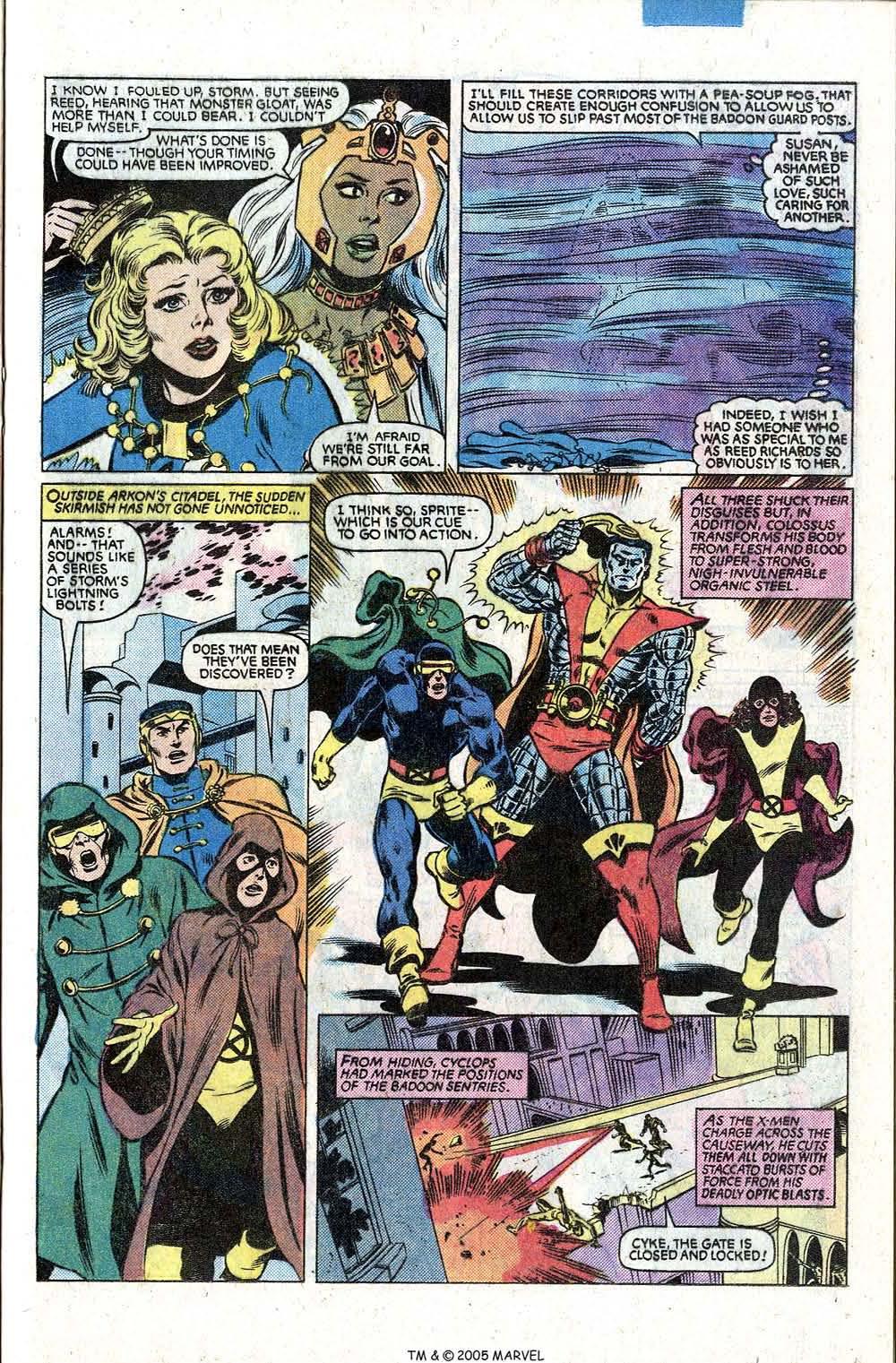 Read online Uncanny X-Men (1963) comic -  Issue # _Annual 5 - 29