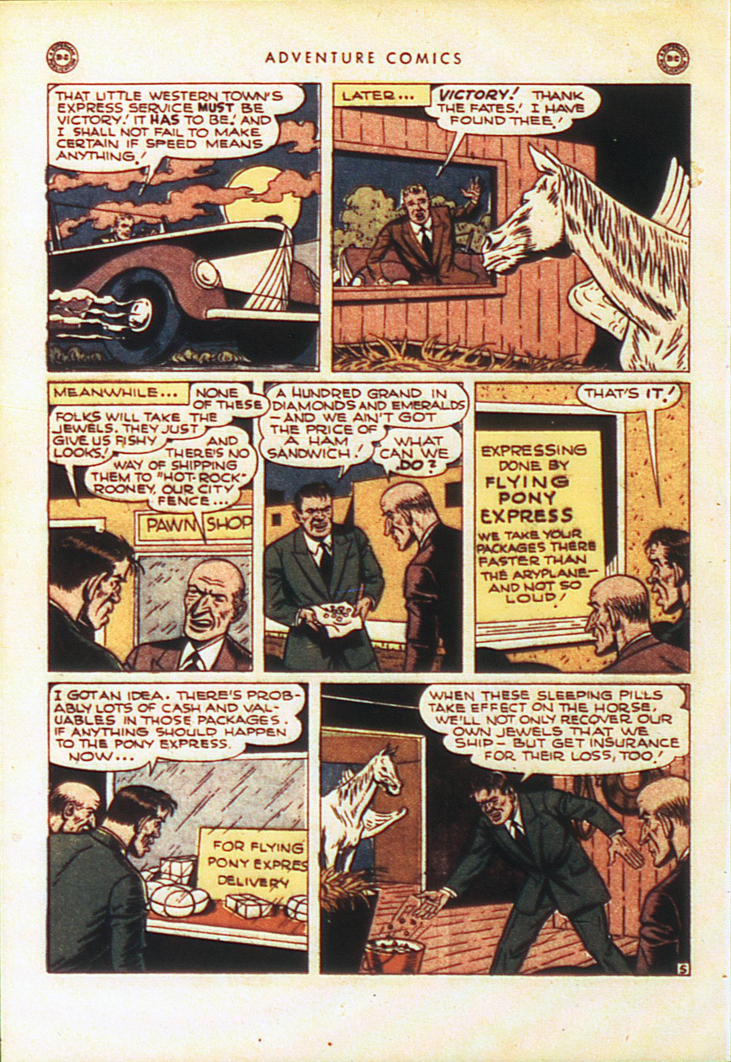 Read online Adventure Comics (1938) comic -  Issue #104 - 35