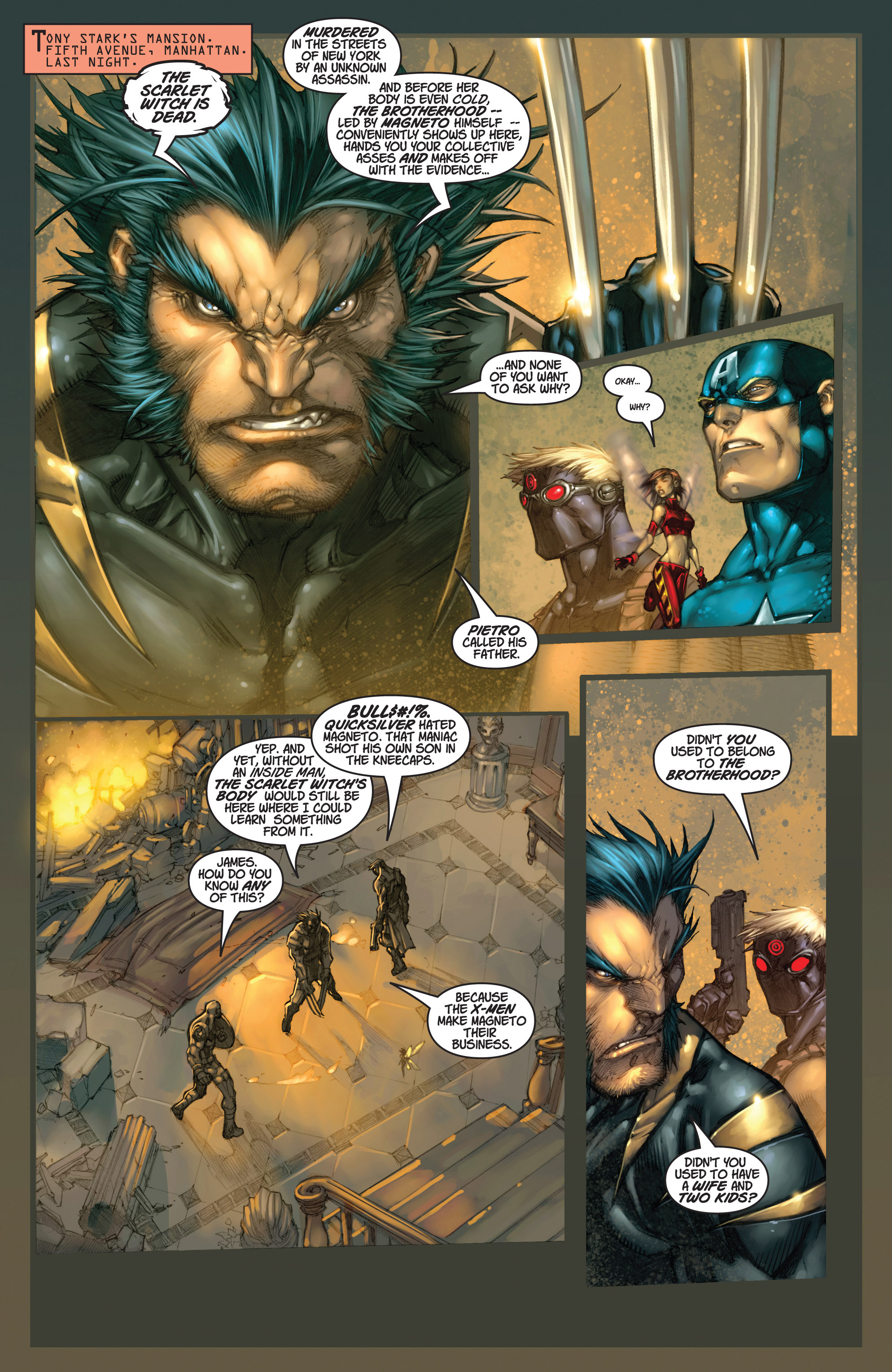 Read online Ultimates 3 comic -  Issue #3 - 3
